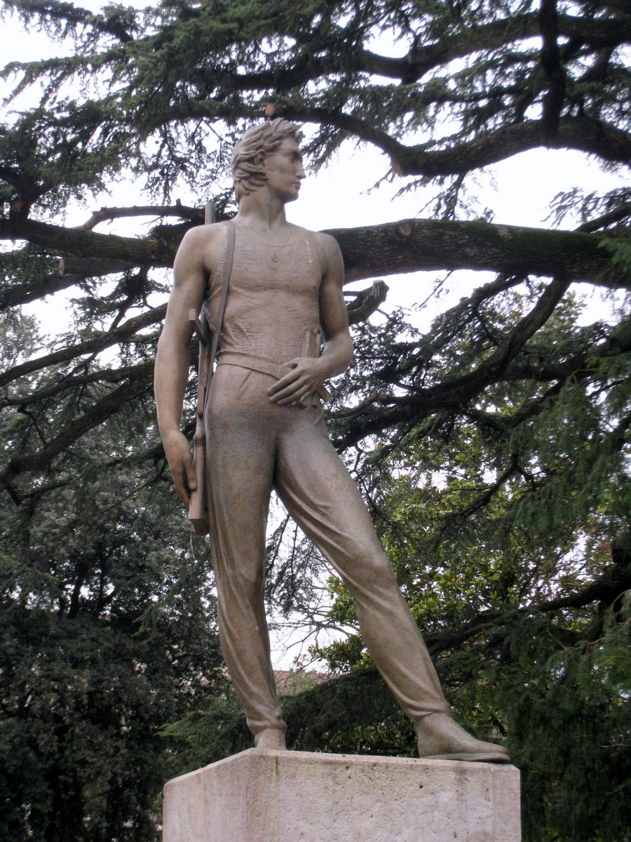 Monument aux morts pour la liberté, Vérone