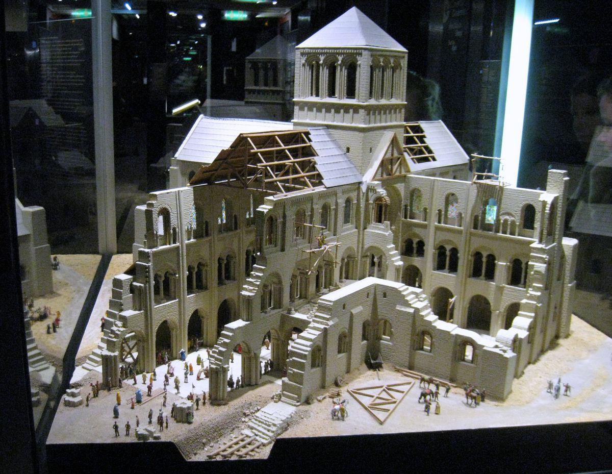 La cathédrale de Winchester (maquette), musée de la Tapisserie de Bayeux