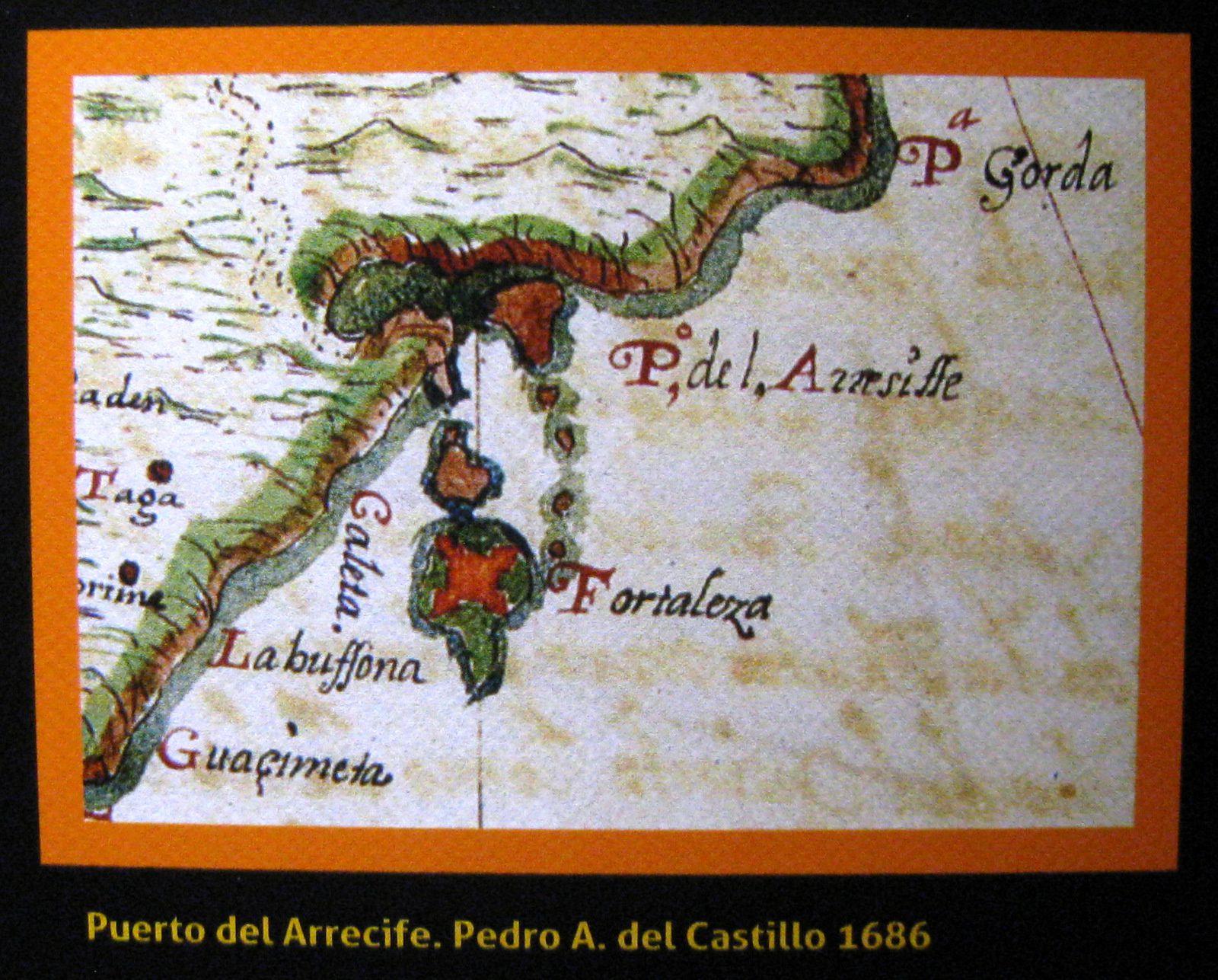 Musée de l'histoire d'Arrecife au castillo de san Gabriel