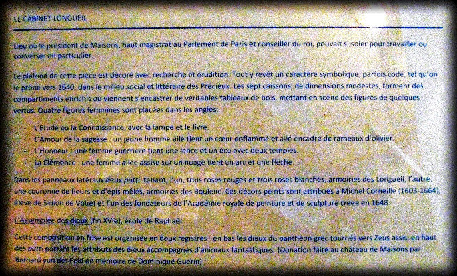 Petit cabinet de René de Longueil