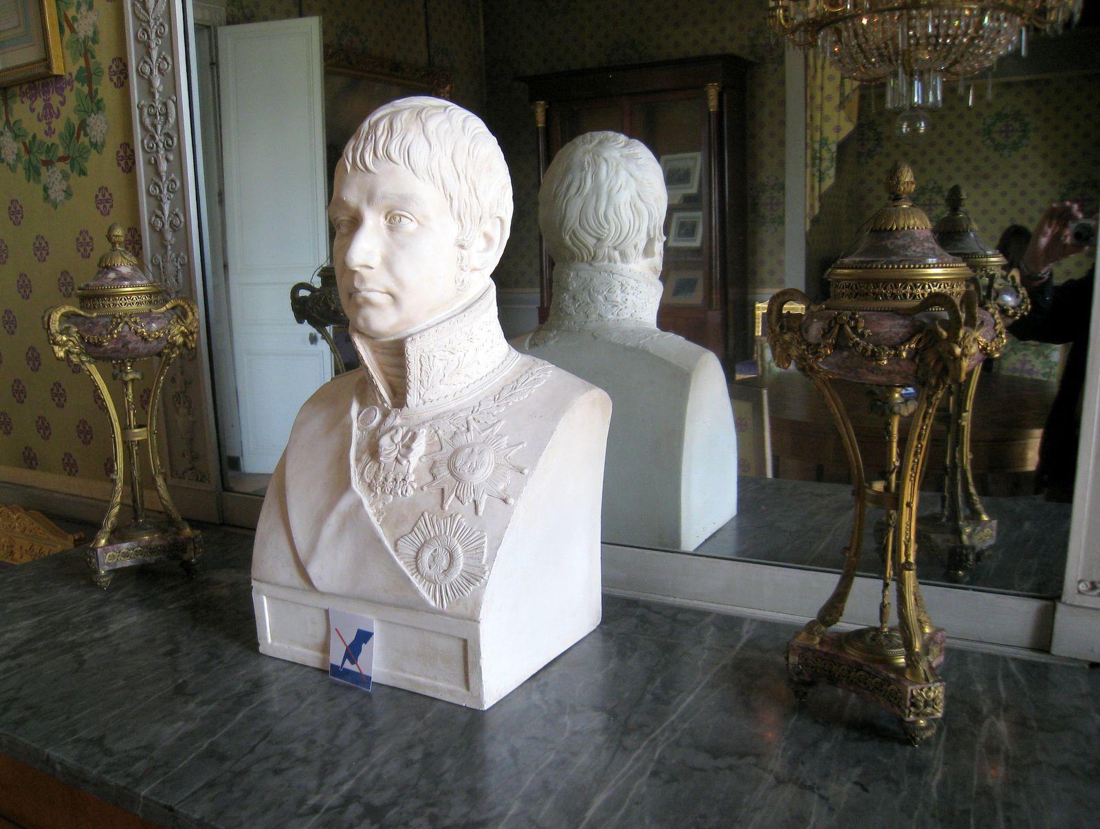 La chambre du maréchal Lannes, château de Maisons-Laffitte
