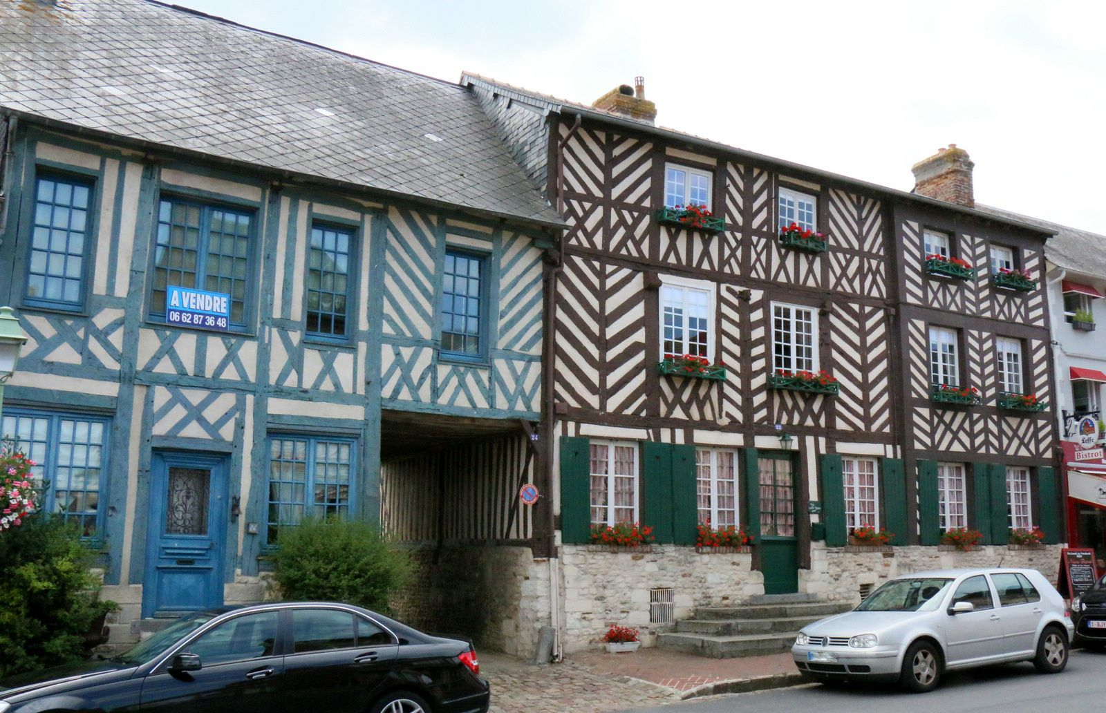 Maisons à colombages (1/2), Beaumont-en-Auge