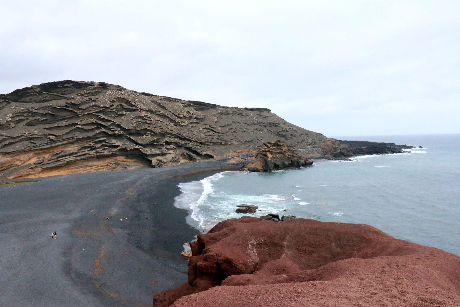 Les couleurs de la côte, île de Lanzarote (Canaries)