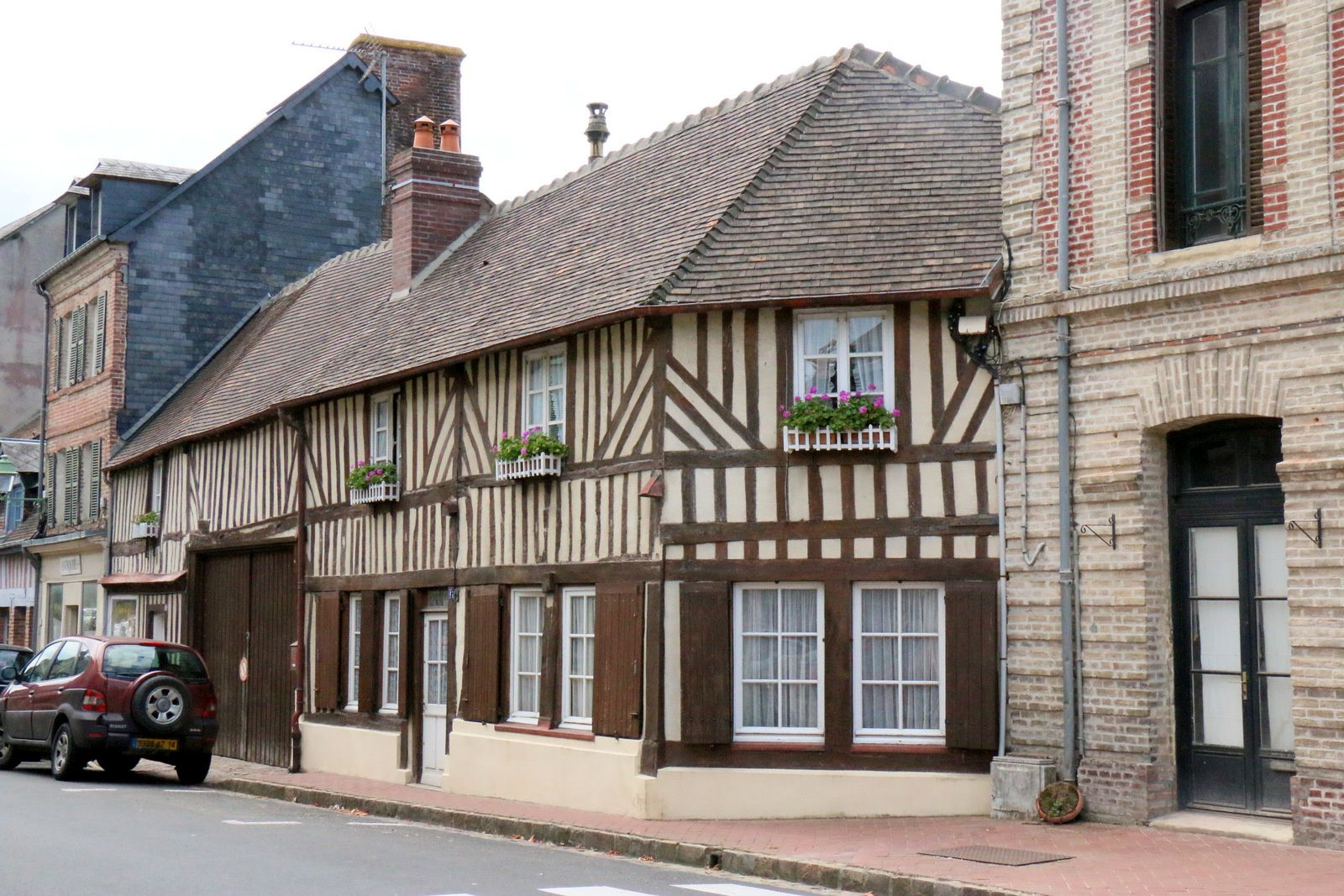 Maisons à colombages (2/2), Beaumont-en-Auge