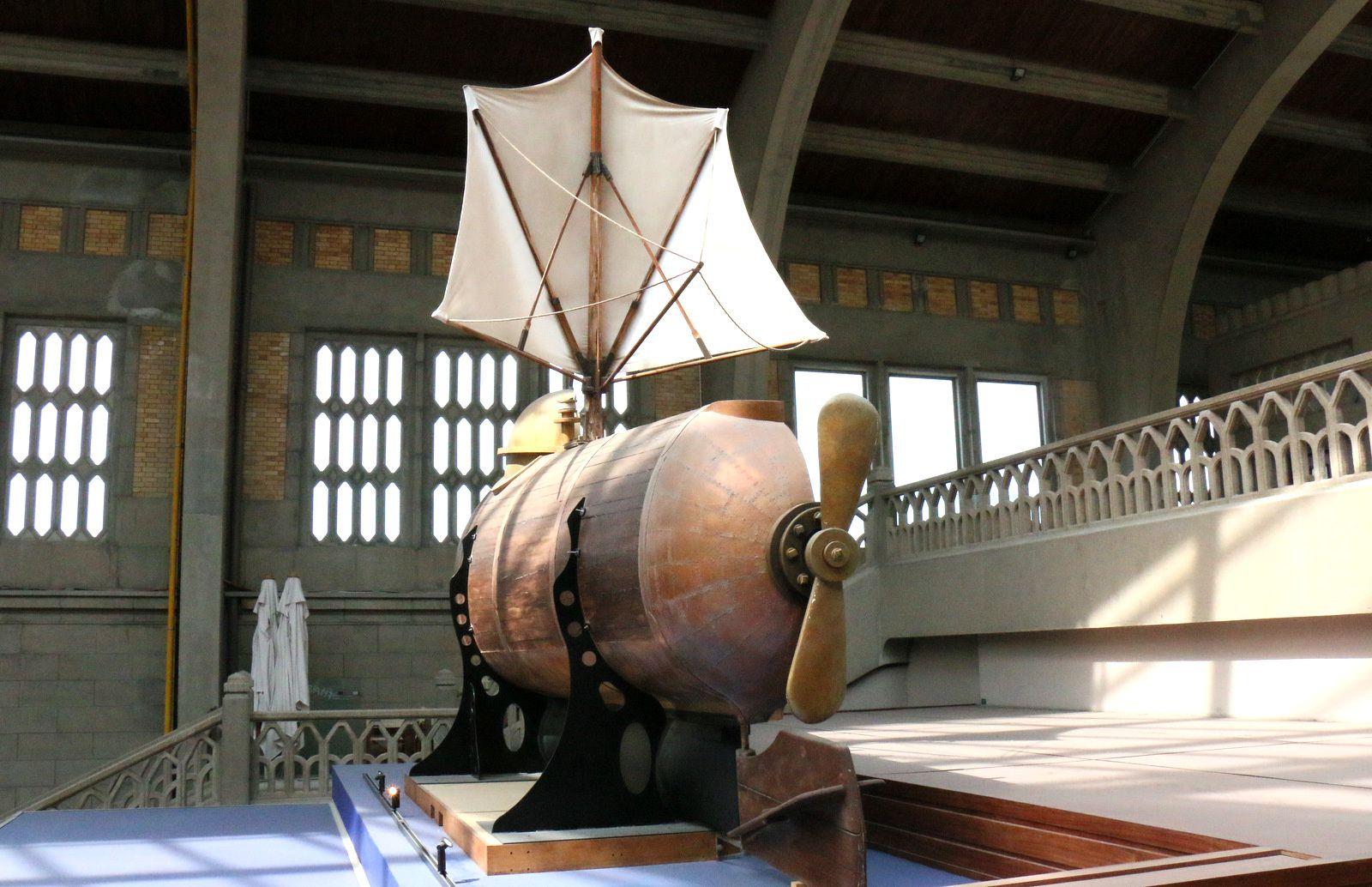 Bathyscaphe Nautilus de Fulton, Cité de la Mer à Cherbourg