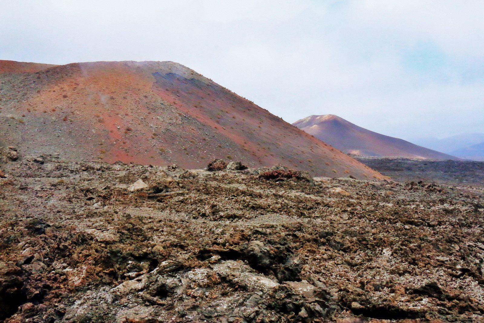 Montañas del Fuego, la route des volcans (Canaries)