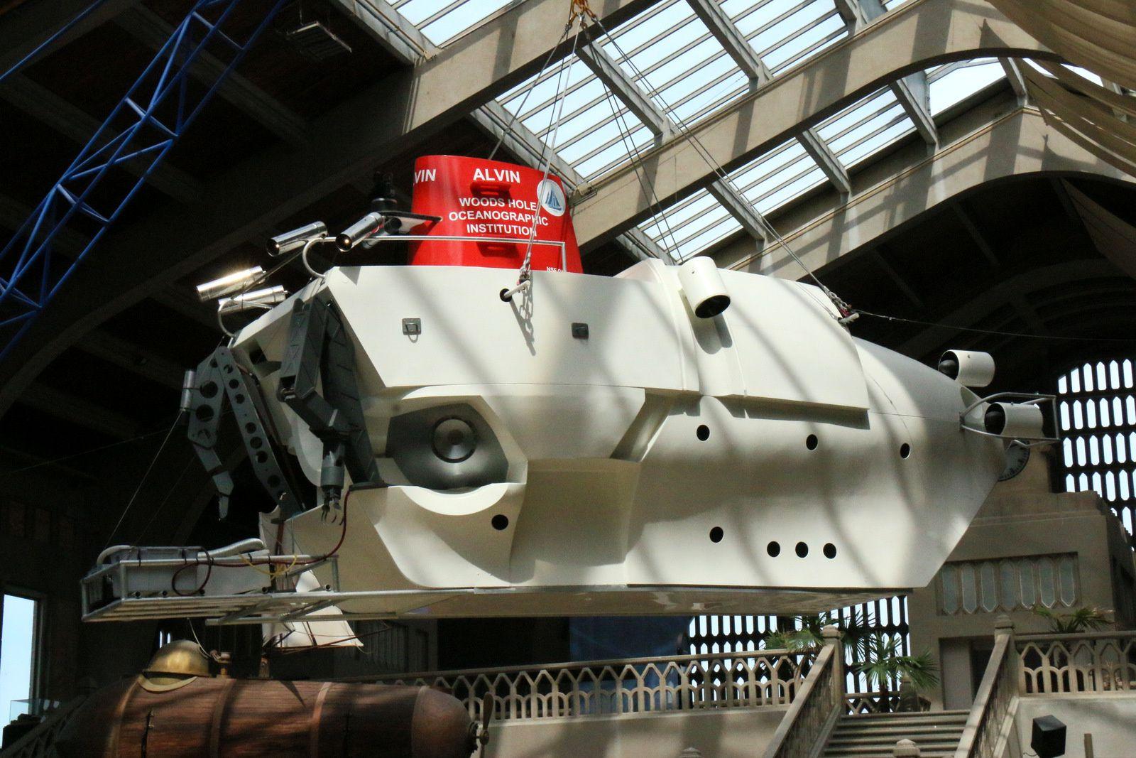 Alvin (DSV-2), cité de la Mer à Cherbourg