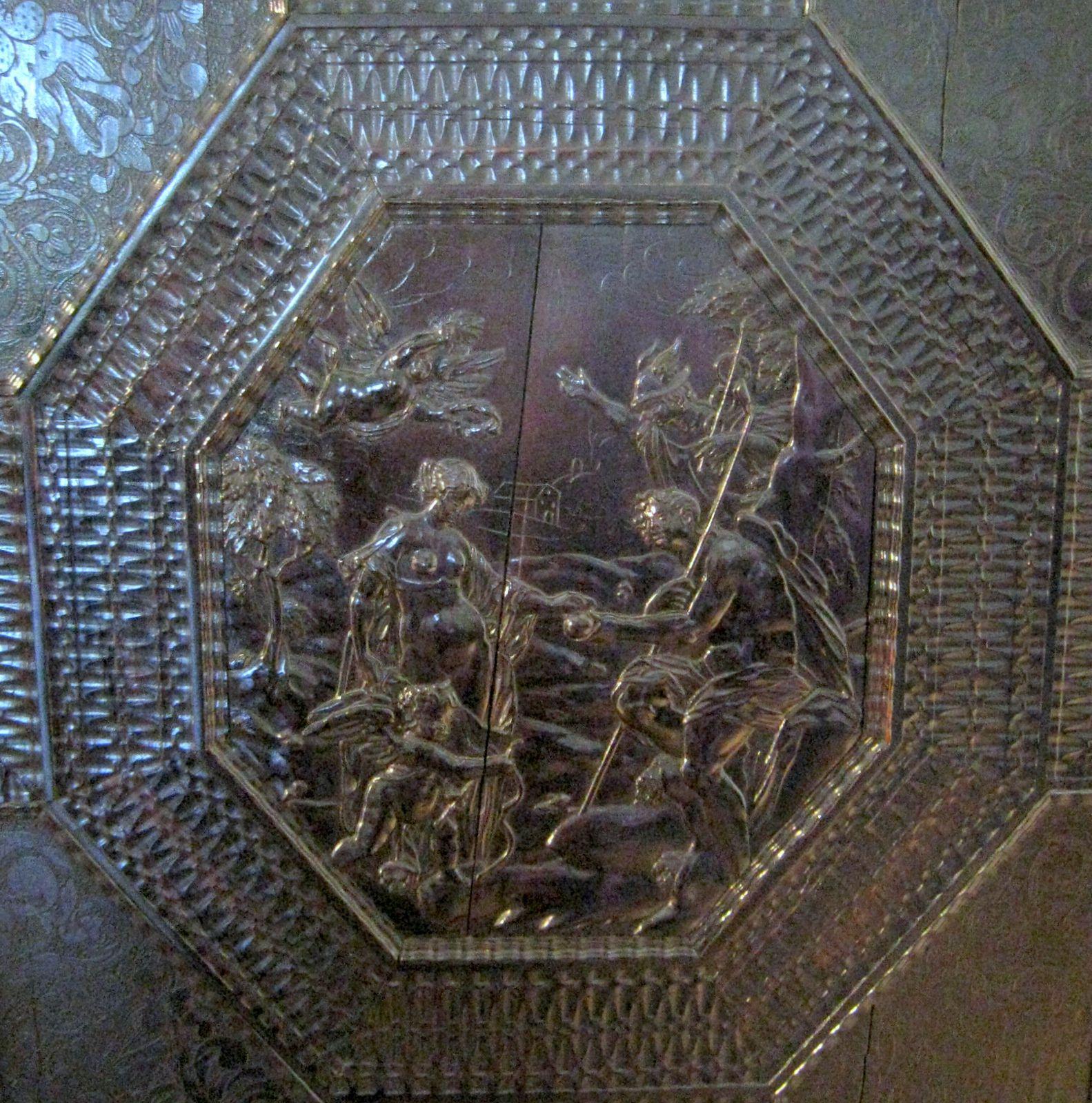 Les Meubles du Grand cabinet à l'italienne, château de Maisons-Laffitte