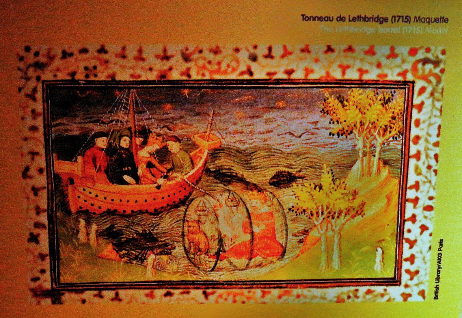 Tonneau de Lethbridge (maquette)