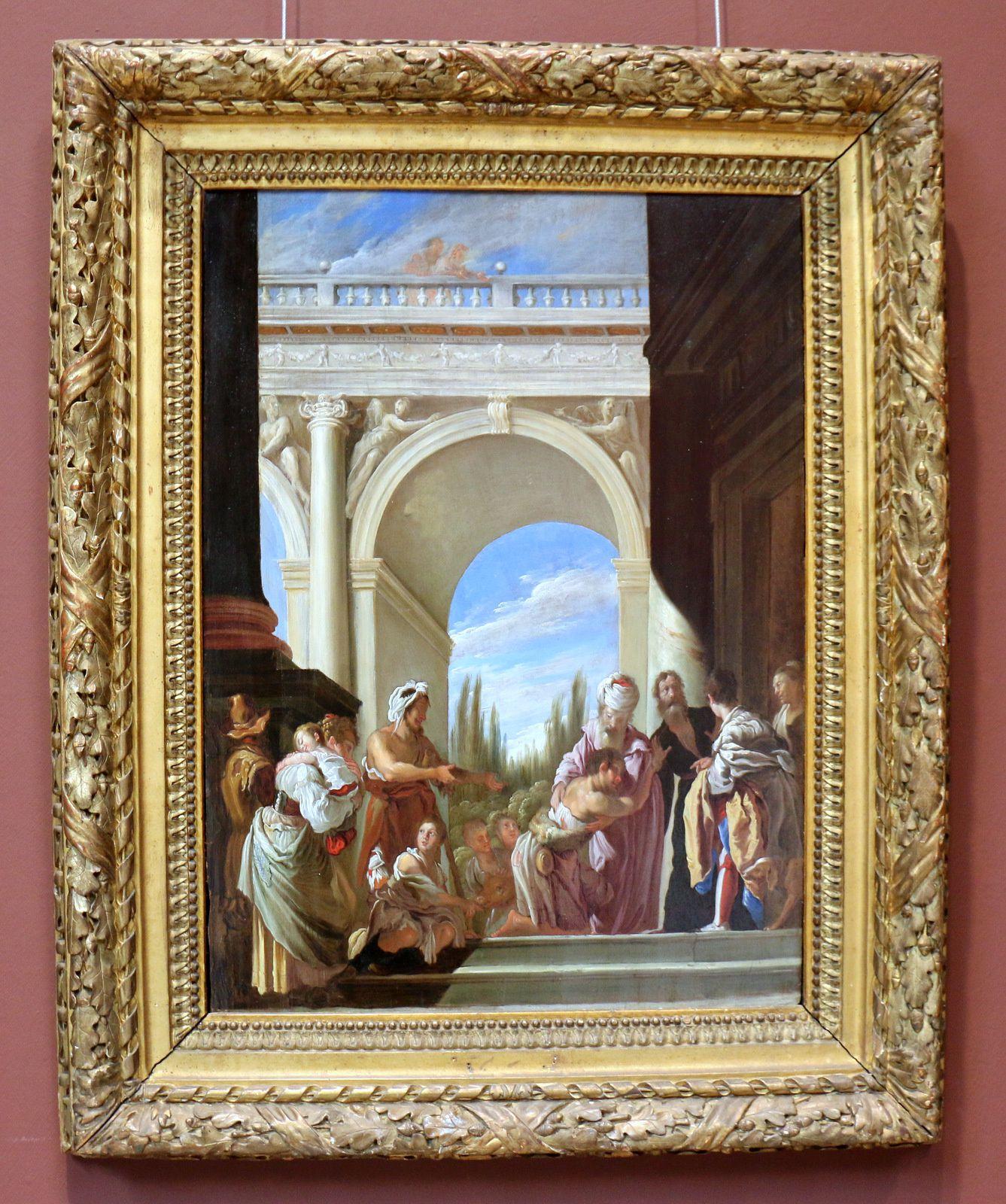 La parabole de l'enfant prodigue, tableau de Feti Domenico