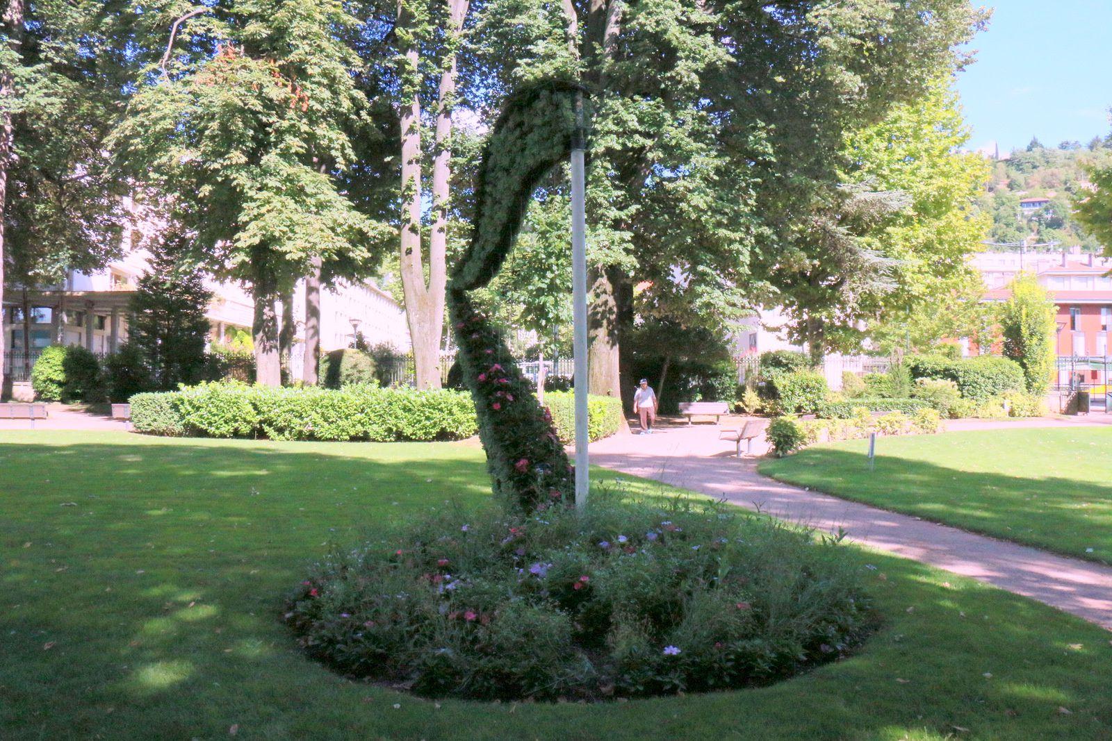 Jardin du 8 mai 1945 à Vienne (Isère)