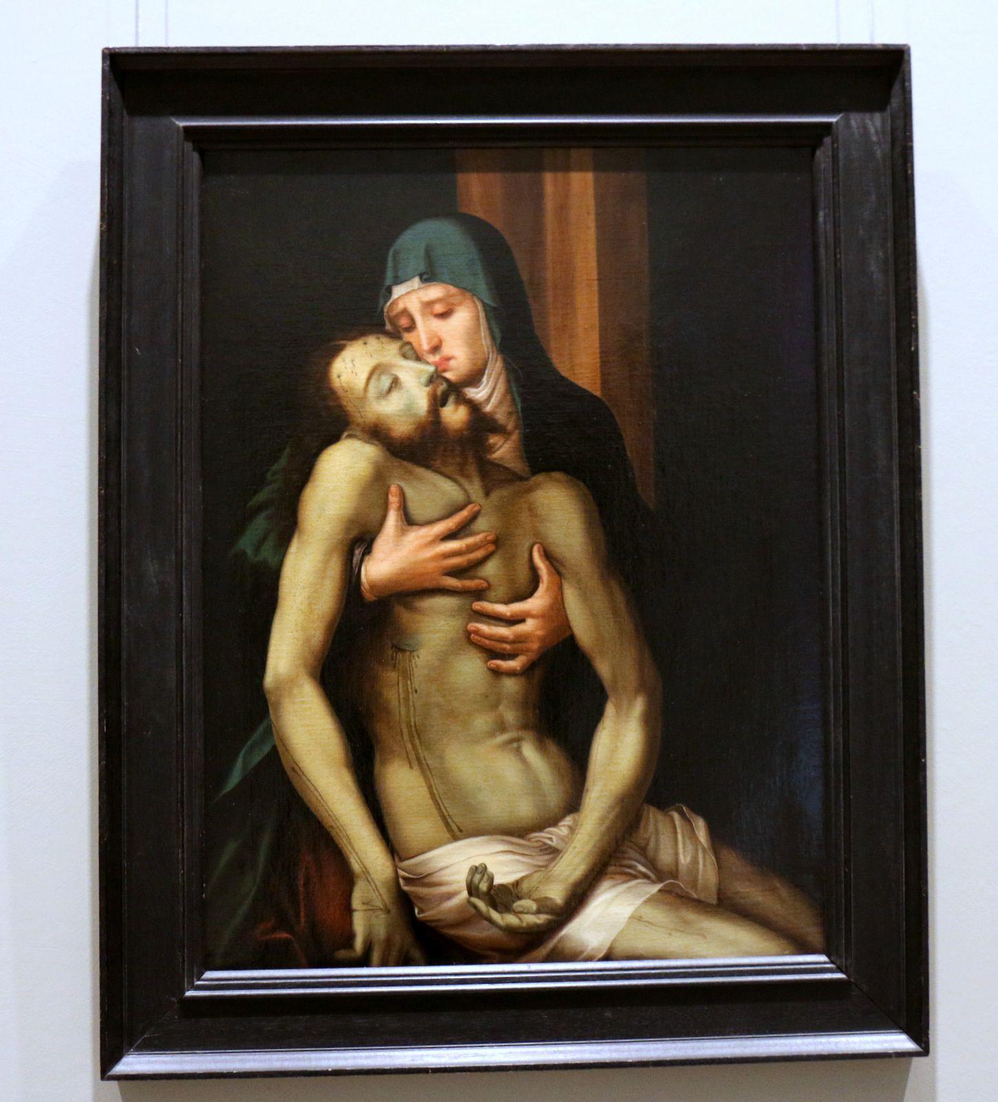 Piéta, tableau de Luis de Moralès