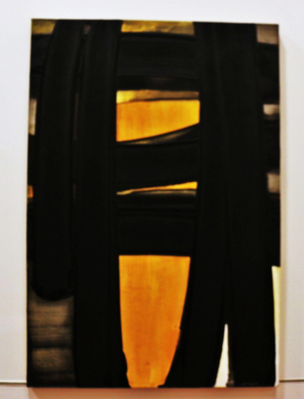 Peintures ..., huiles sur toile de Pierre Soulages