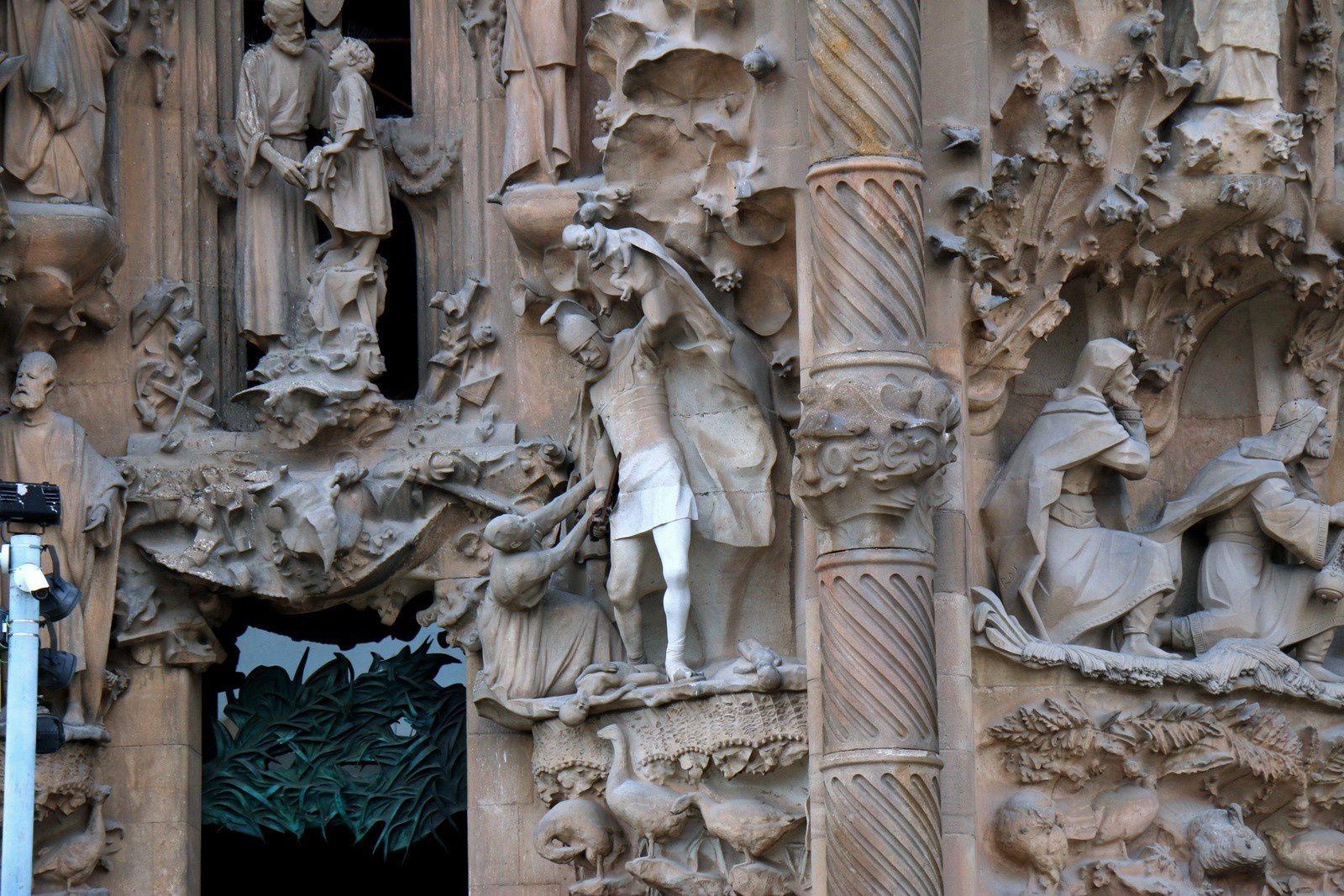 Sagrada Familia, façade de la Nativité