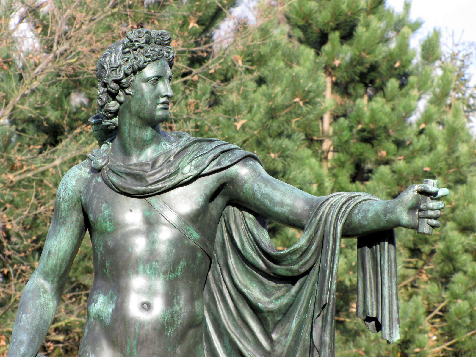 Apollon du Belvédère, parc de Malmaison