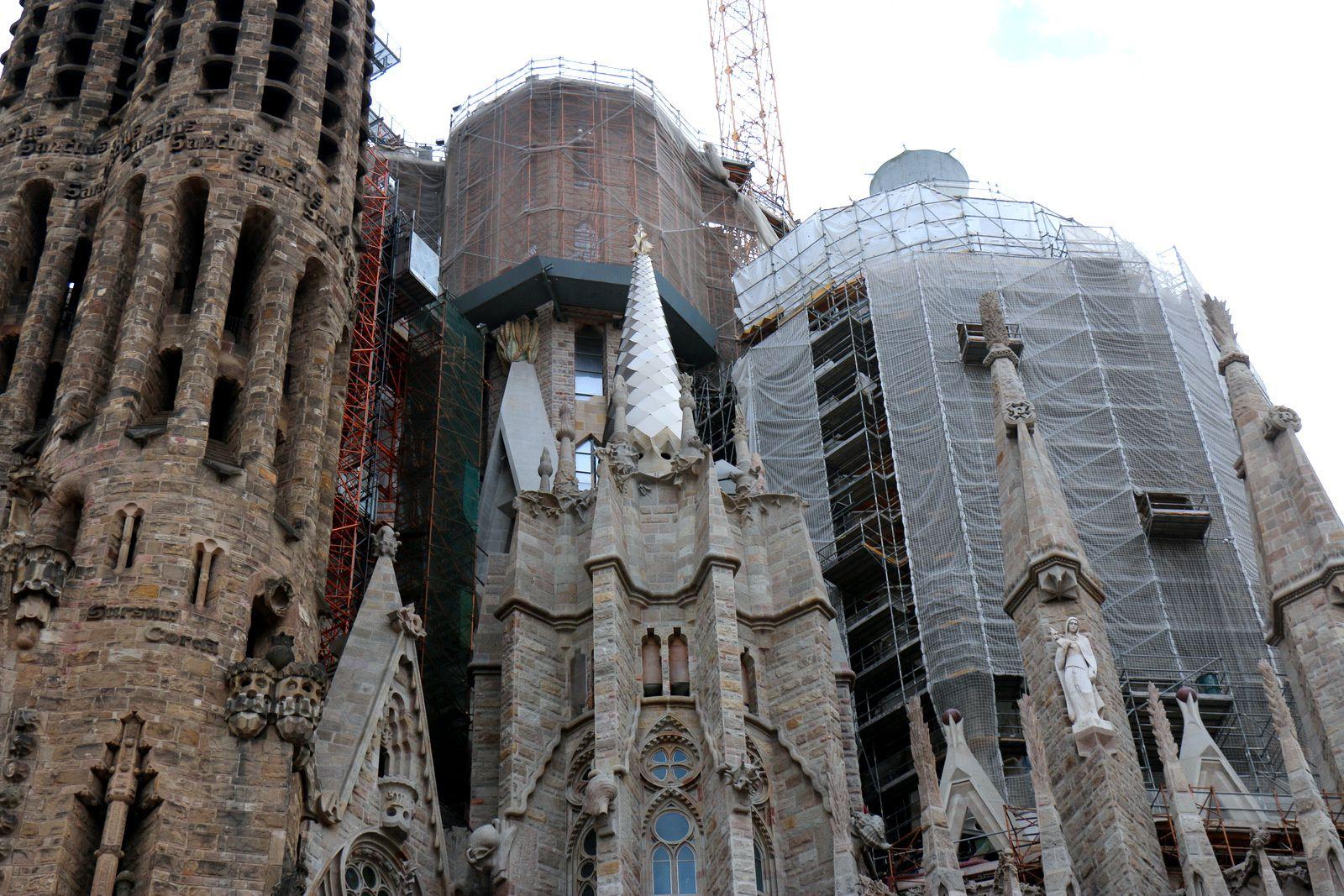 Sagrada Familia, l'abside