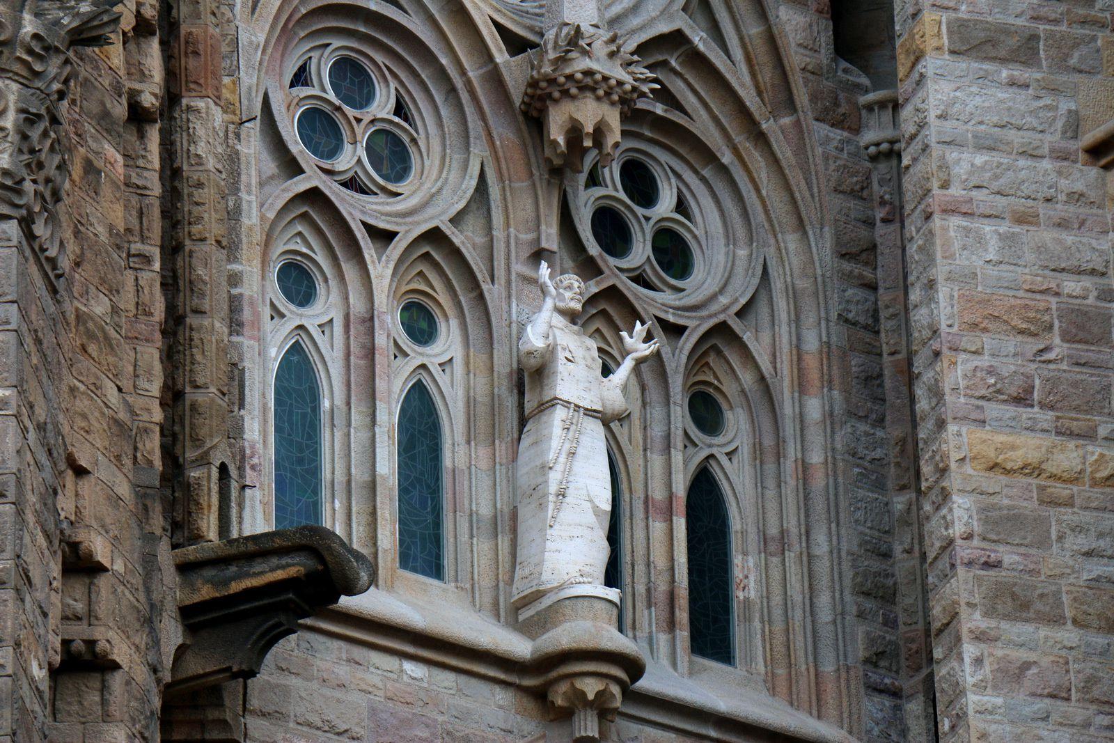 Sagrada Familia, les saints de l'abside