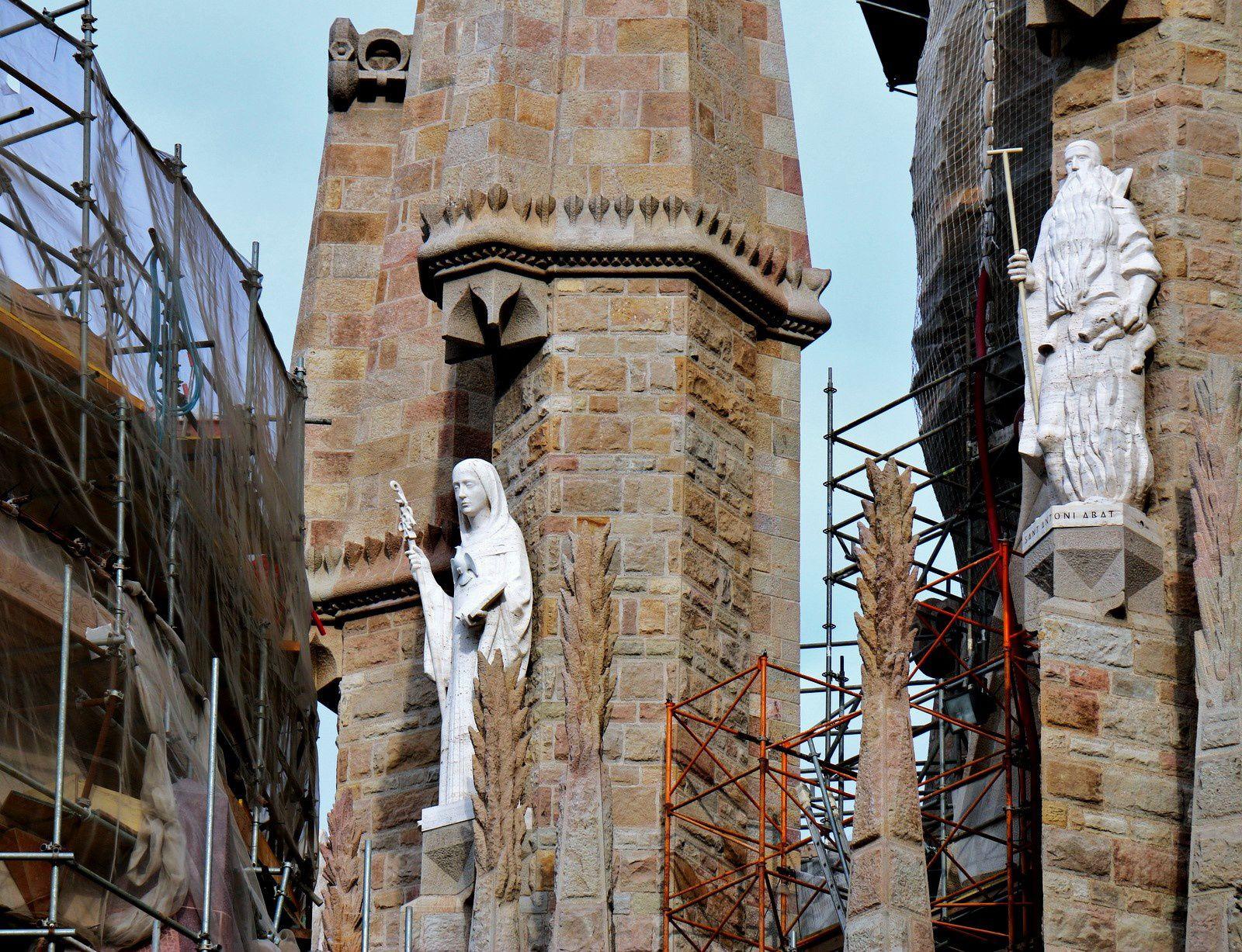 Saint Antoine et Sainte Scolastique