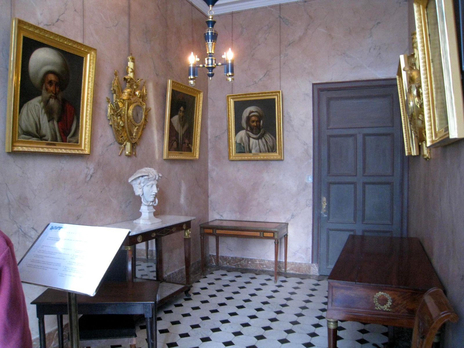 L'antichambre du salon, château de Malmaison