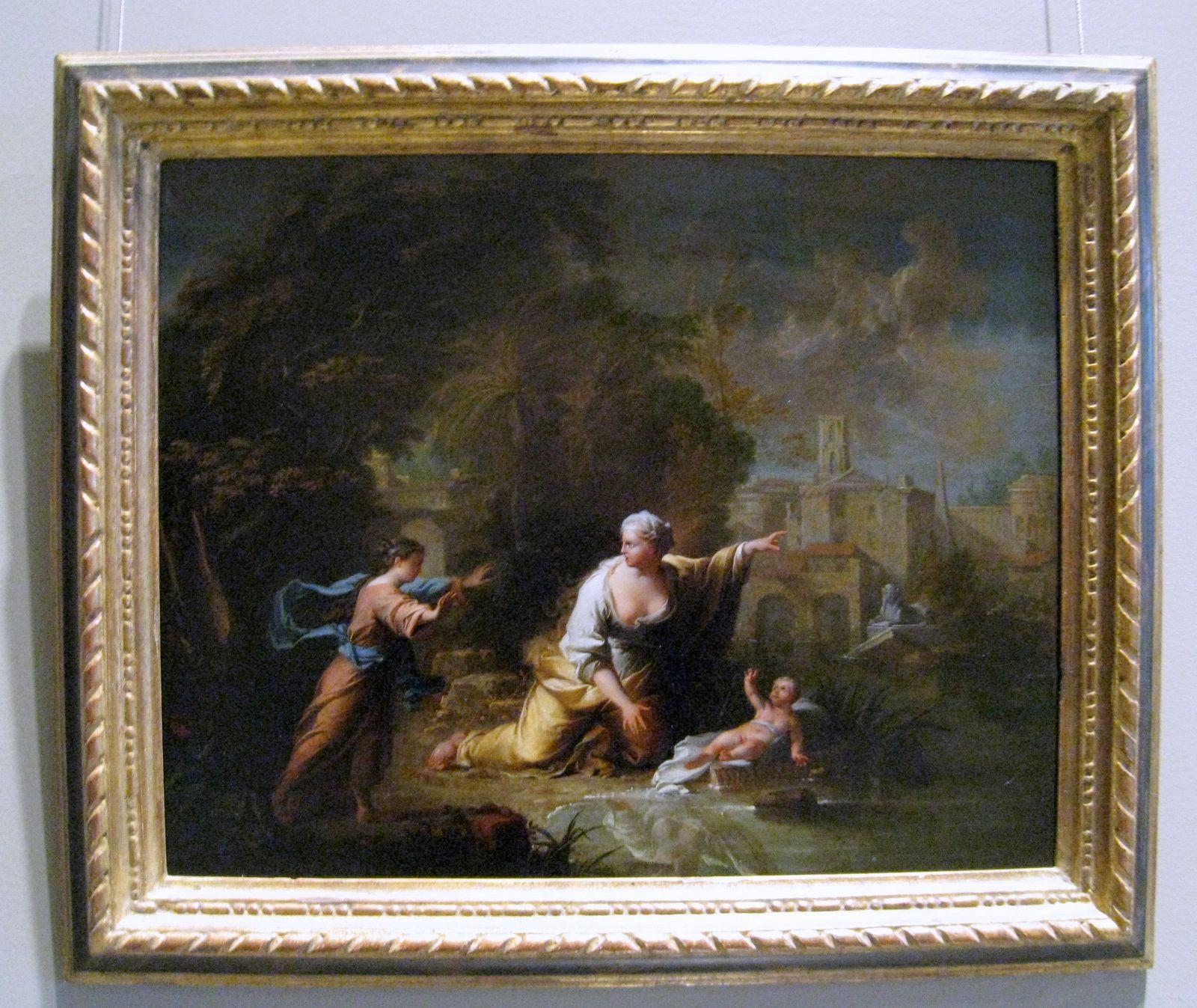 Robert le Vrac dit Tournières, Moïse sauvé des eaux