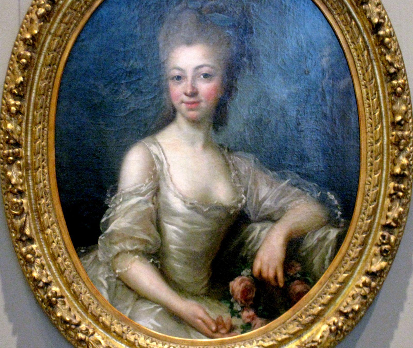 Louise-Elisabeth Vigée-Lebrun, portrait de jeune femme