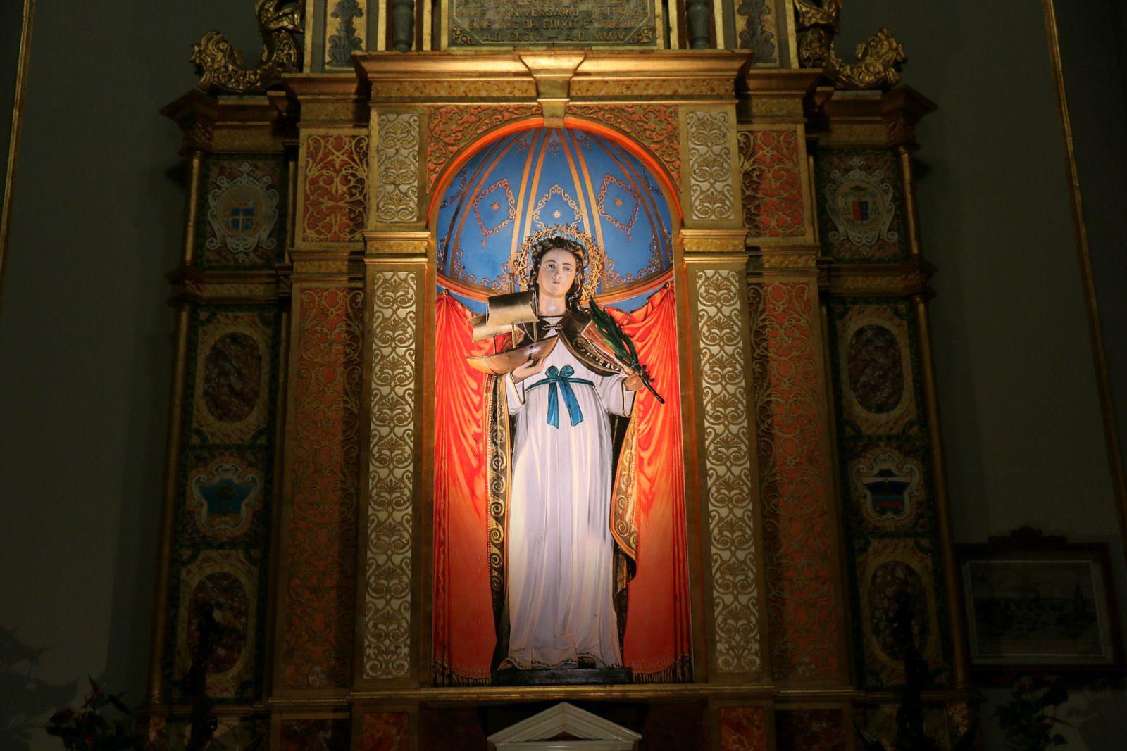 Sainte Fermina et la capitainerie de Civitavecchia