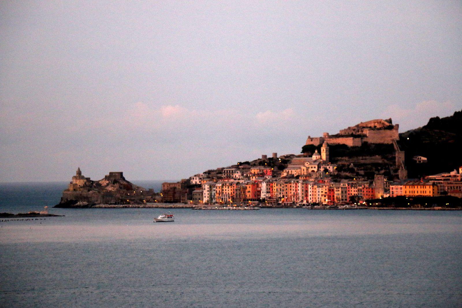 Arrivée dans le golfe de La Spezia