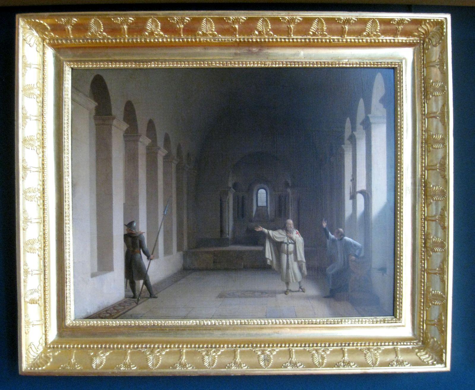 Fleury-François Richard, Jacques de Molay, Grand Maître des Templiers, allant à la mort