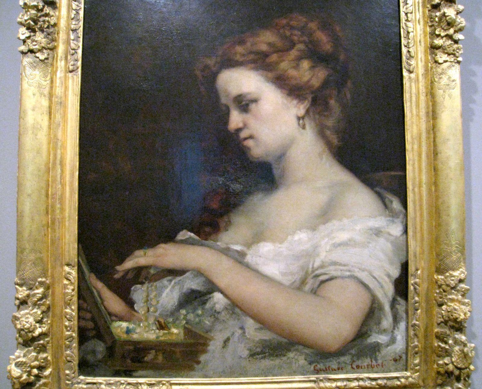 Gustave Courbet, La dame aux bijoux