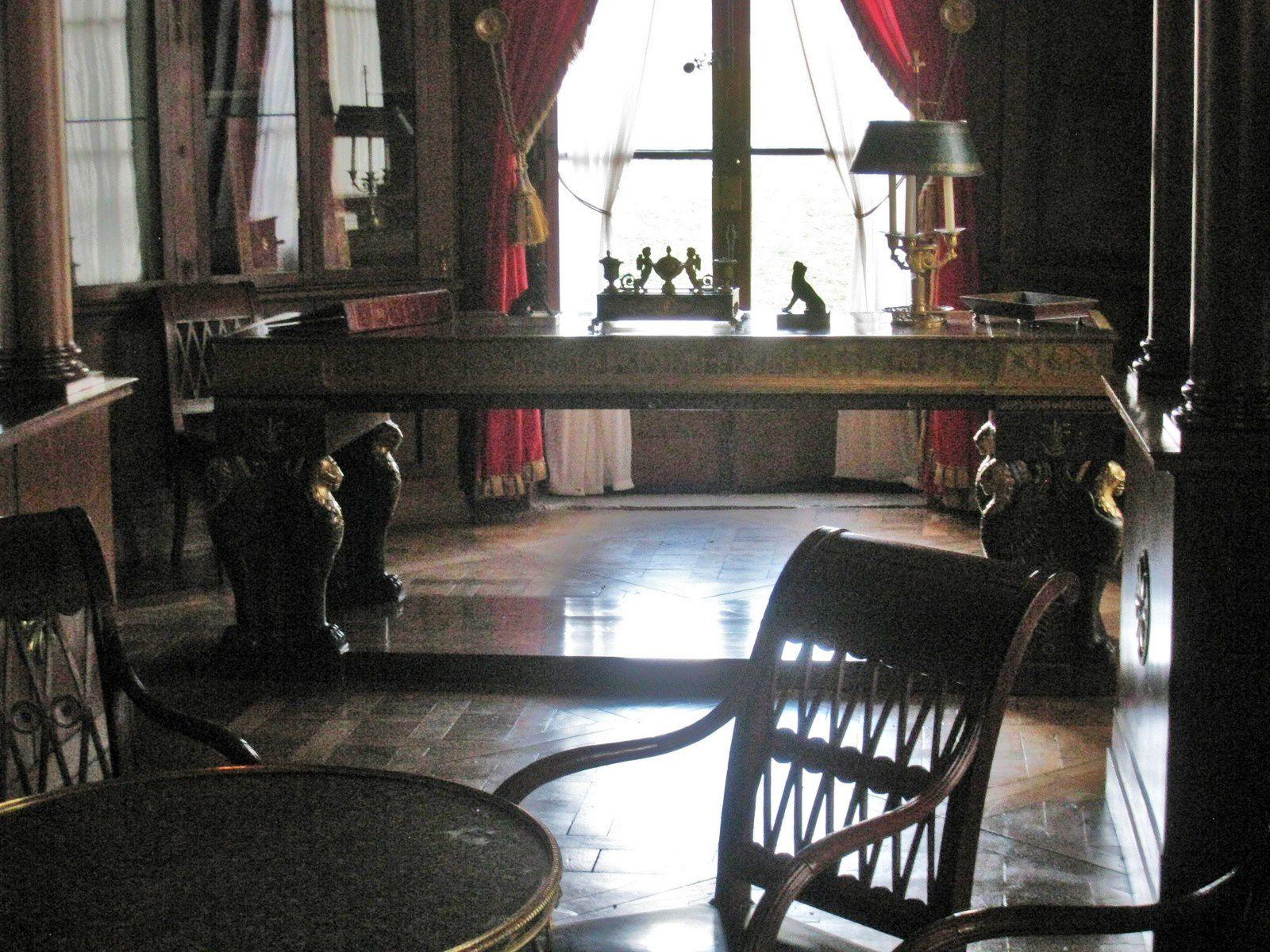 Bibliothèque du château de Malmaison (1/2)