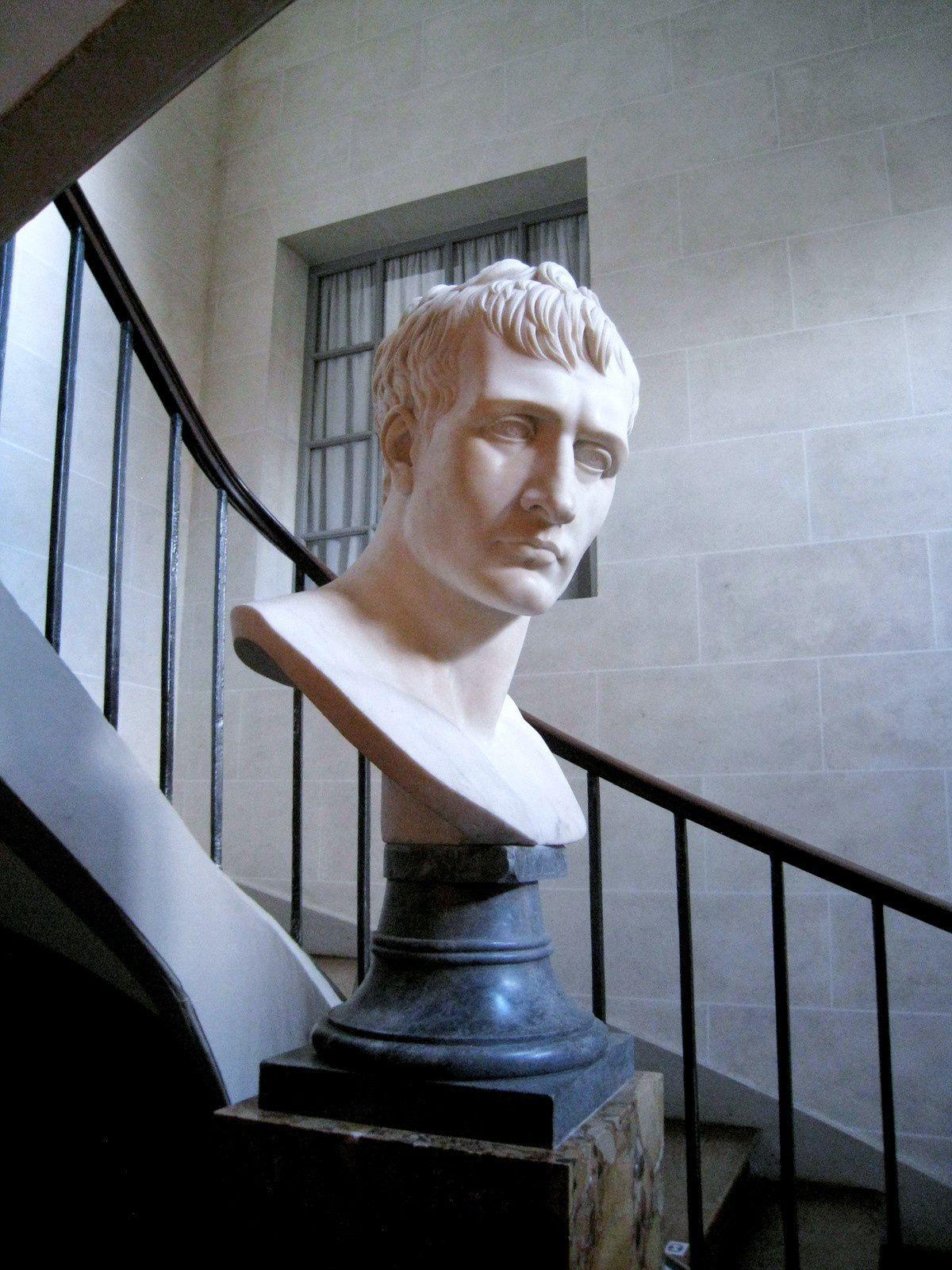 Buste de Napoléon, château de Malmaison