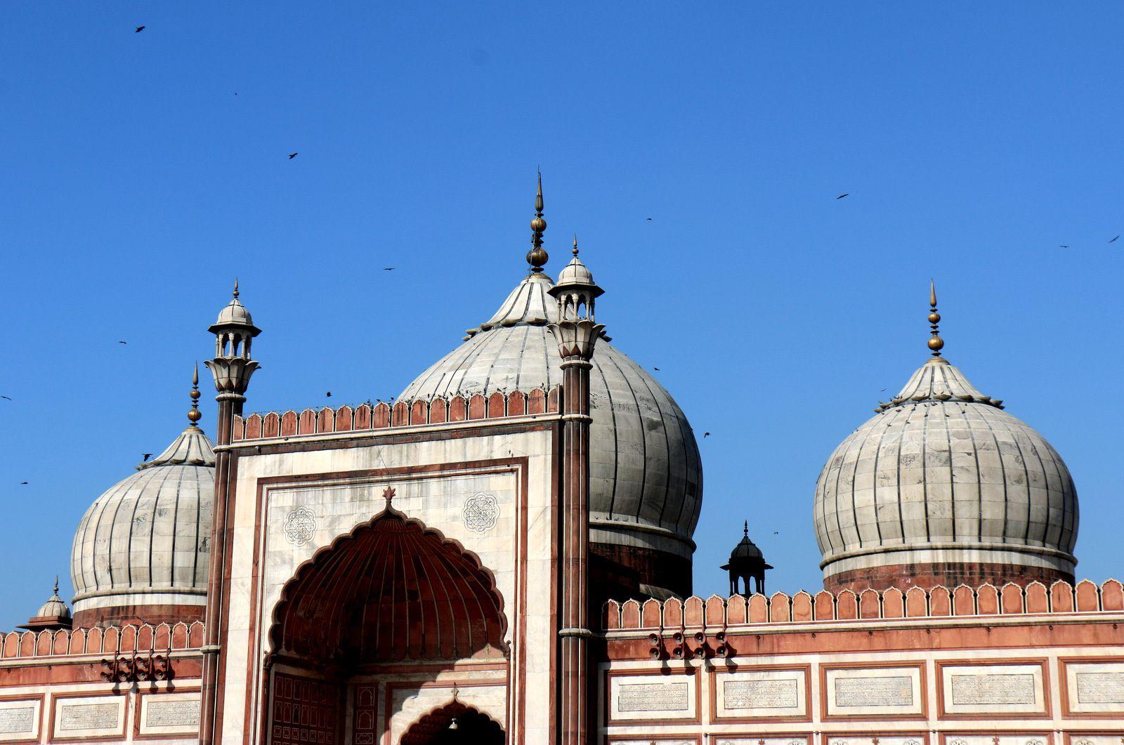 La jama Mashid (1/2), la grande mosquée de Delhi