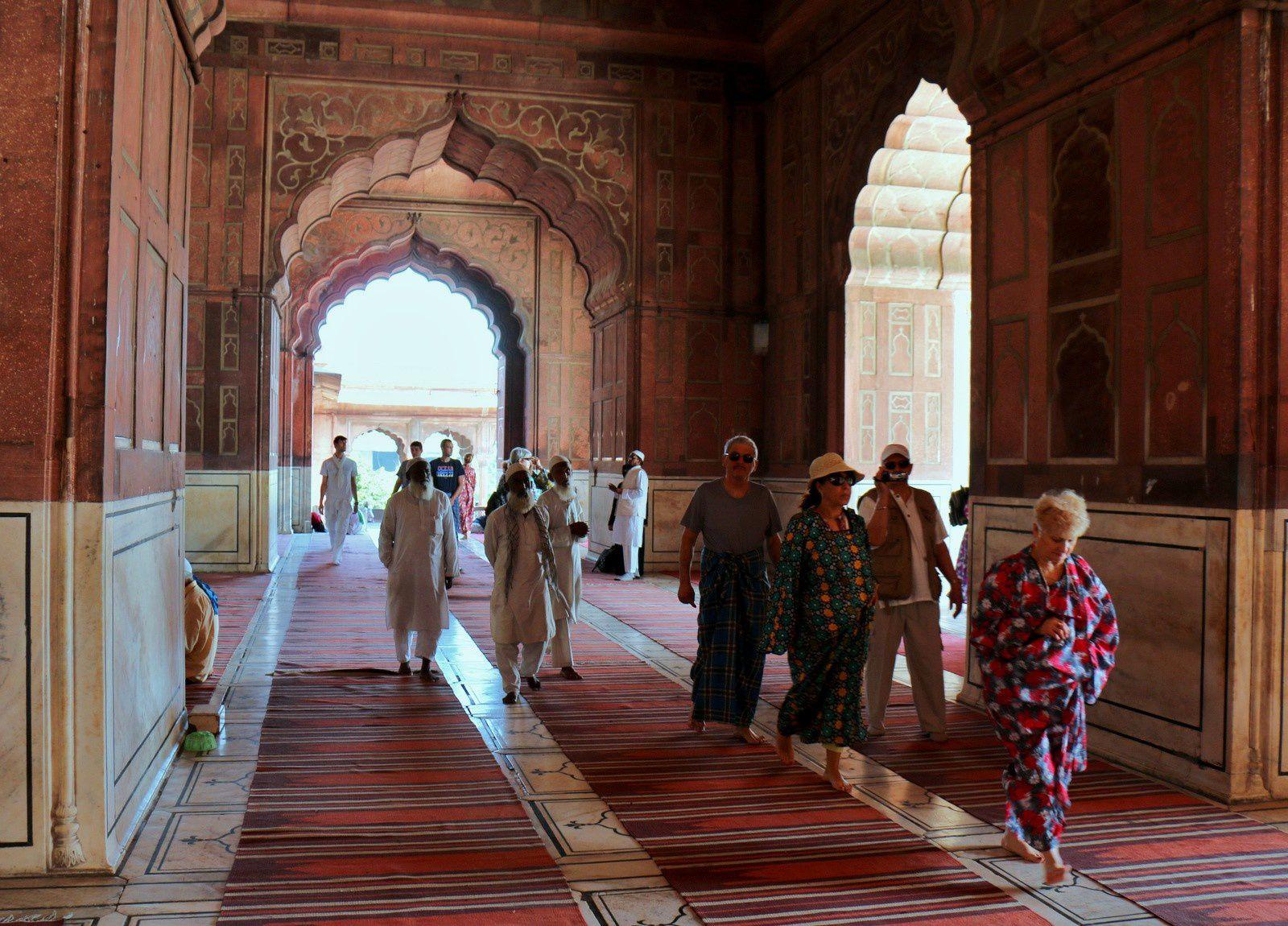 La jama Mashid (2/2), la grande mosquée de Delhi