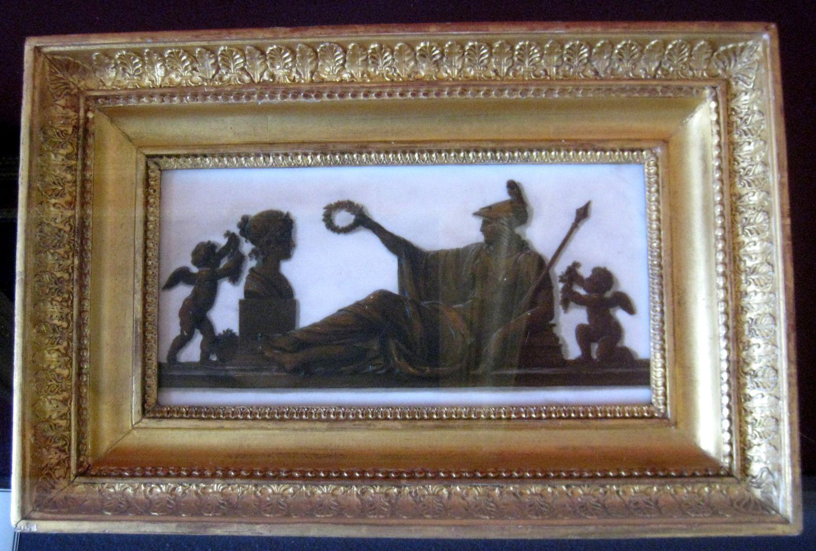 Piat-Joseph Sauvage, allégories à la gloire de Napoléon 1er et de l'Impératrice Joséphine