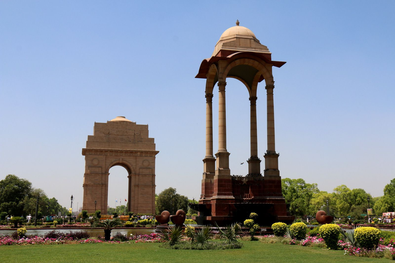 India Gate Canopy, New Delhi