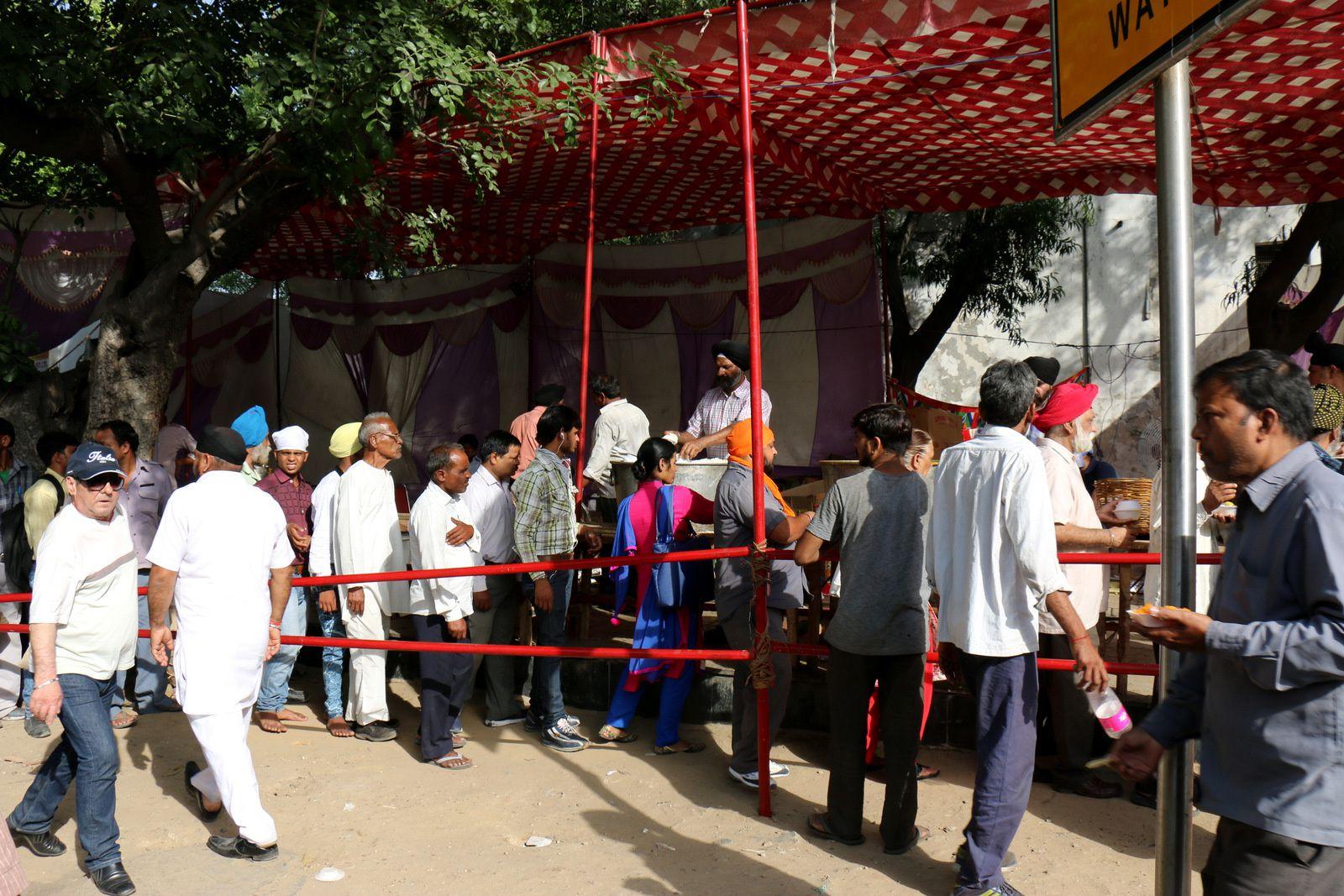 Temple Sikh &quot&#x3B;Gurudwara Sis Ganj Sahib&quot&#x3B;, Delhi