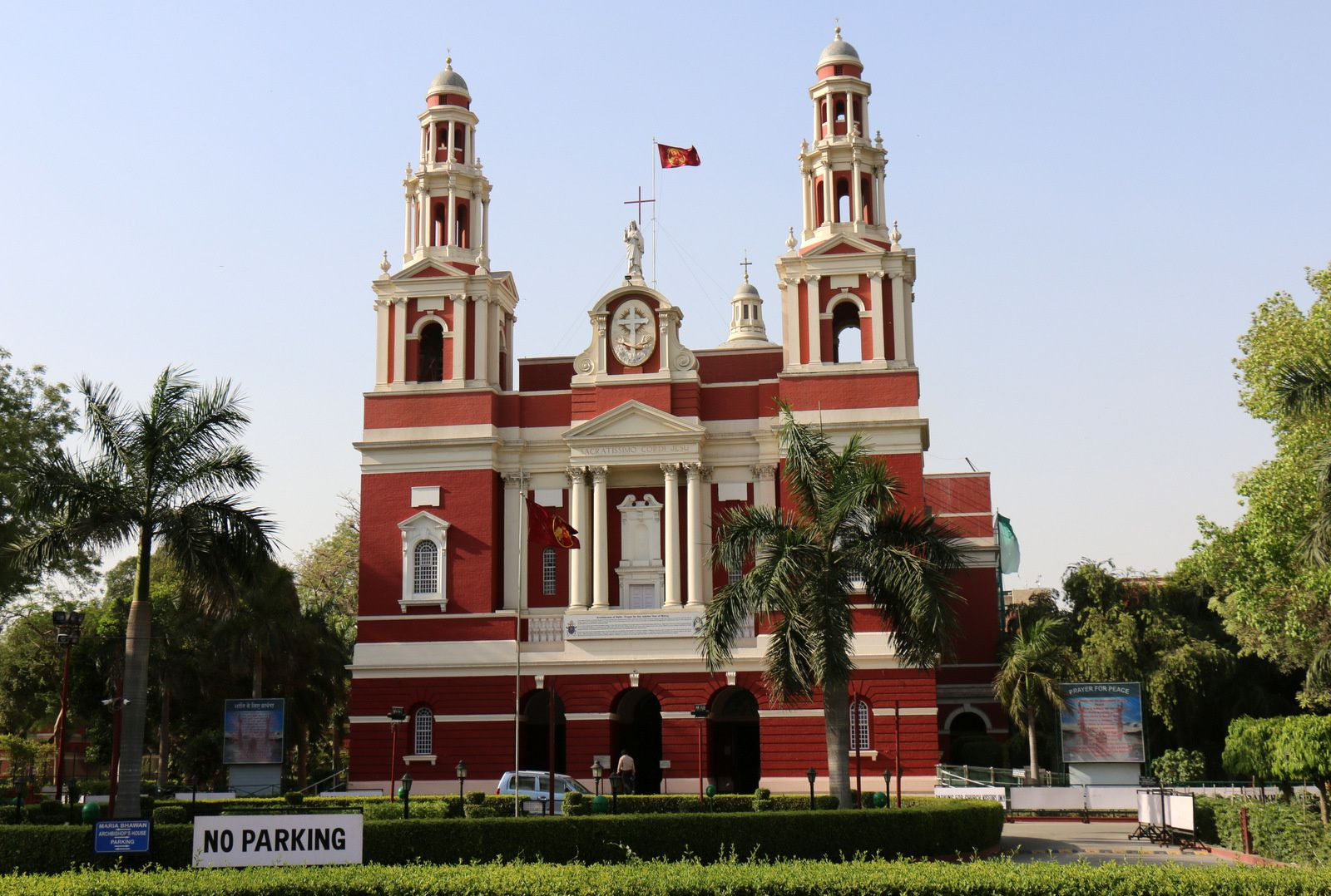 Cathédrale du Sacré-Cœur, Delhi (Inde)