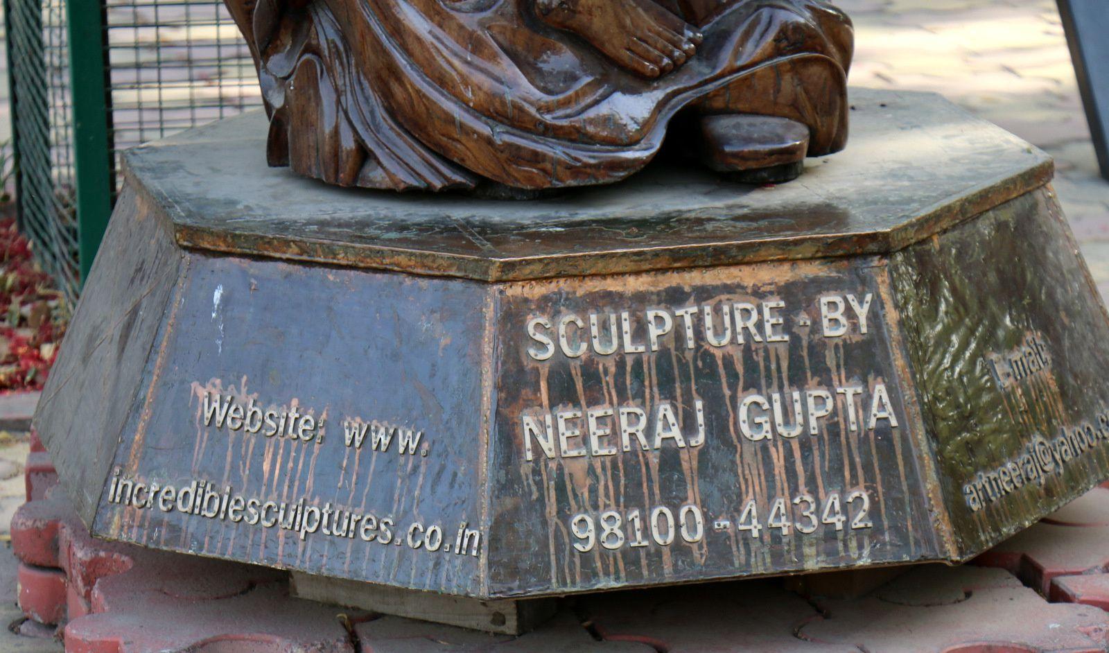 Sculpture de Neeraj Gupta, Delhi (Inde)