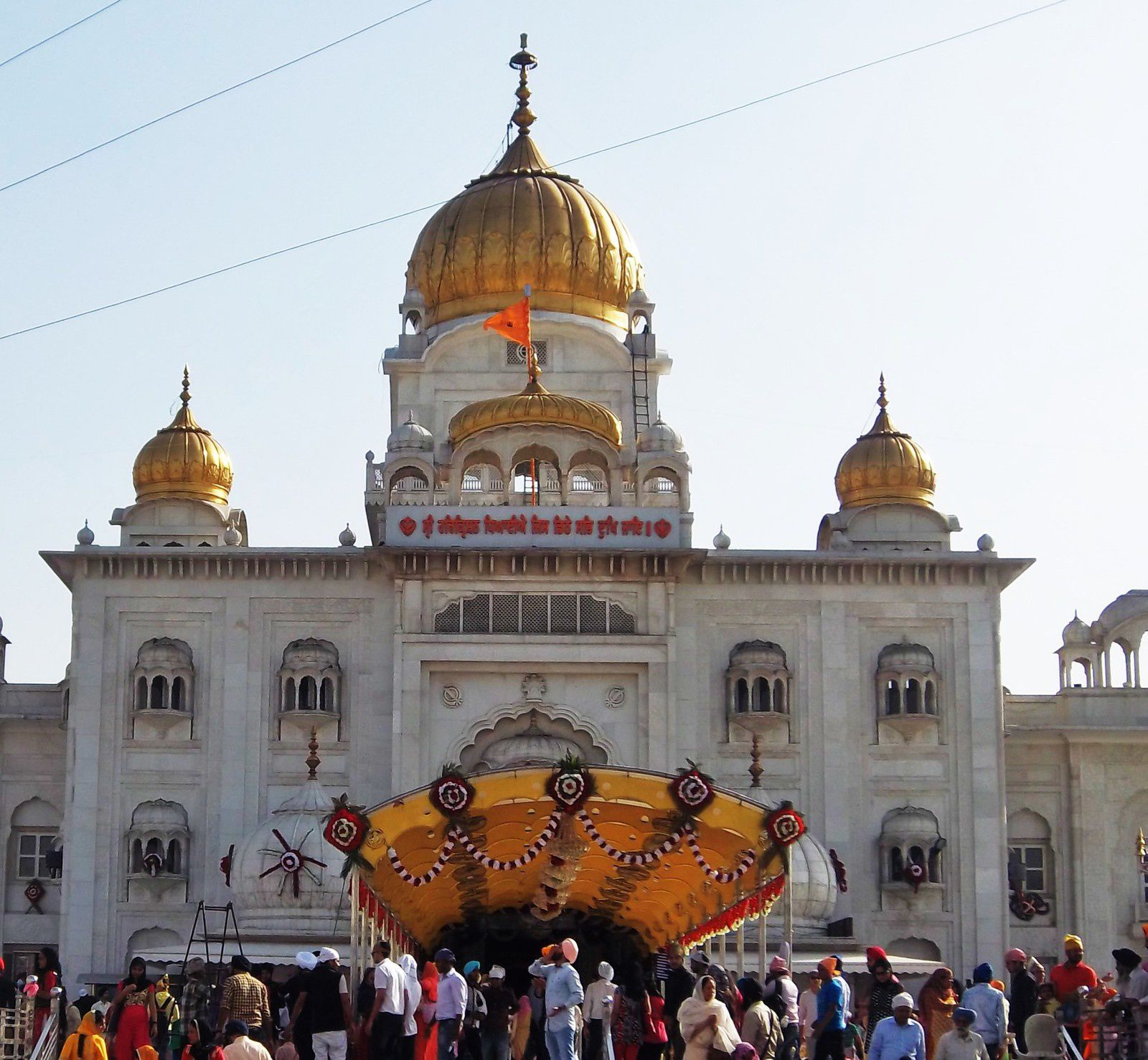 Temple Sikh &quot&#x3B;Gurudwara Sis Ganj Sahib&quot&#x3B;( Delhi)