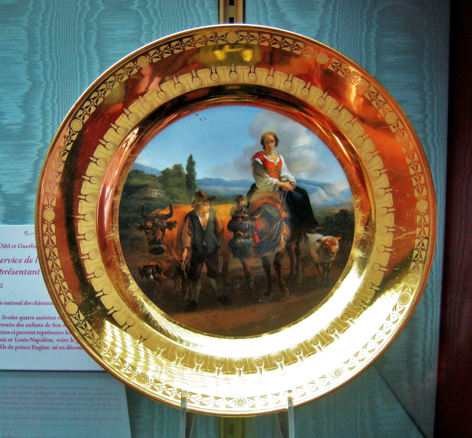 Assiettes, château de Malmaison
