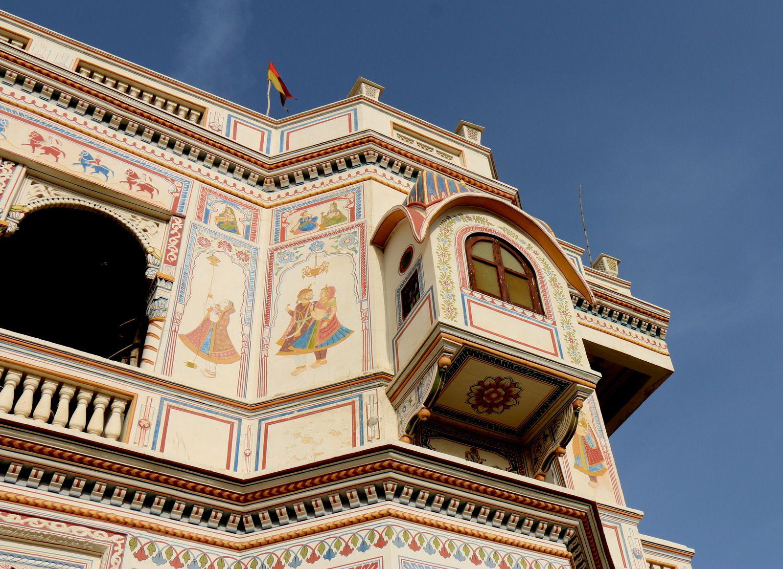 Hôtel &quot&#x3B;Heritage&quot&#x3B; à Mandawa, Rajasthan (Inde)