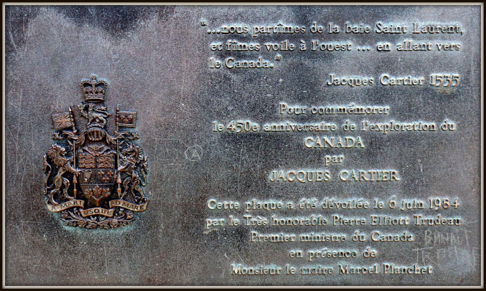 Jacques Cartier, Saint-Malo