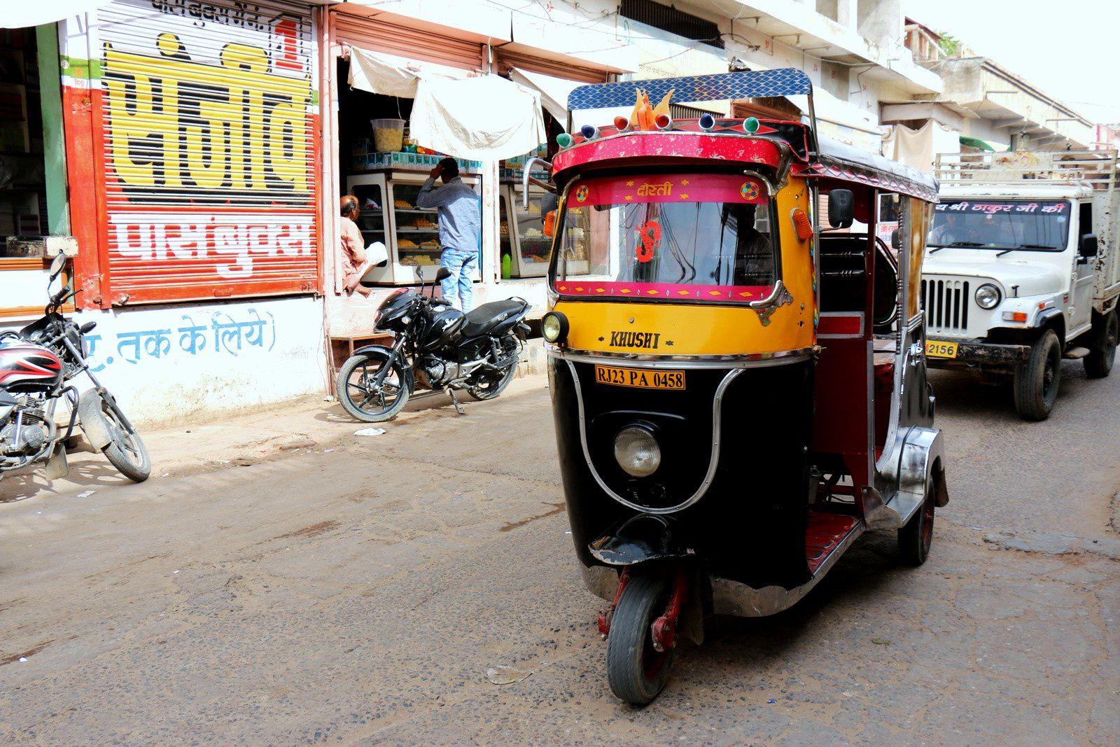Dans les rues de Fatehpur (Rajasthan, Inde)