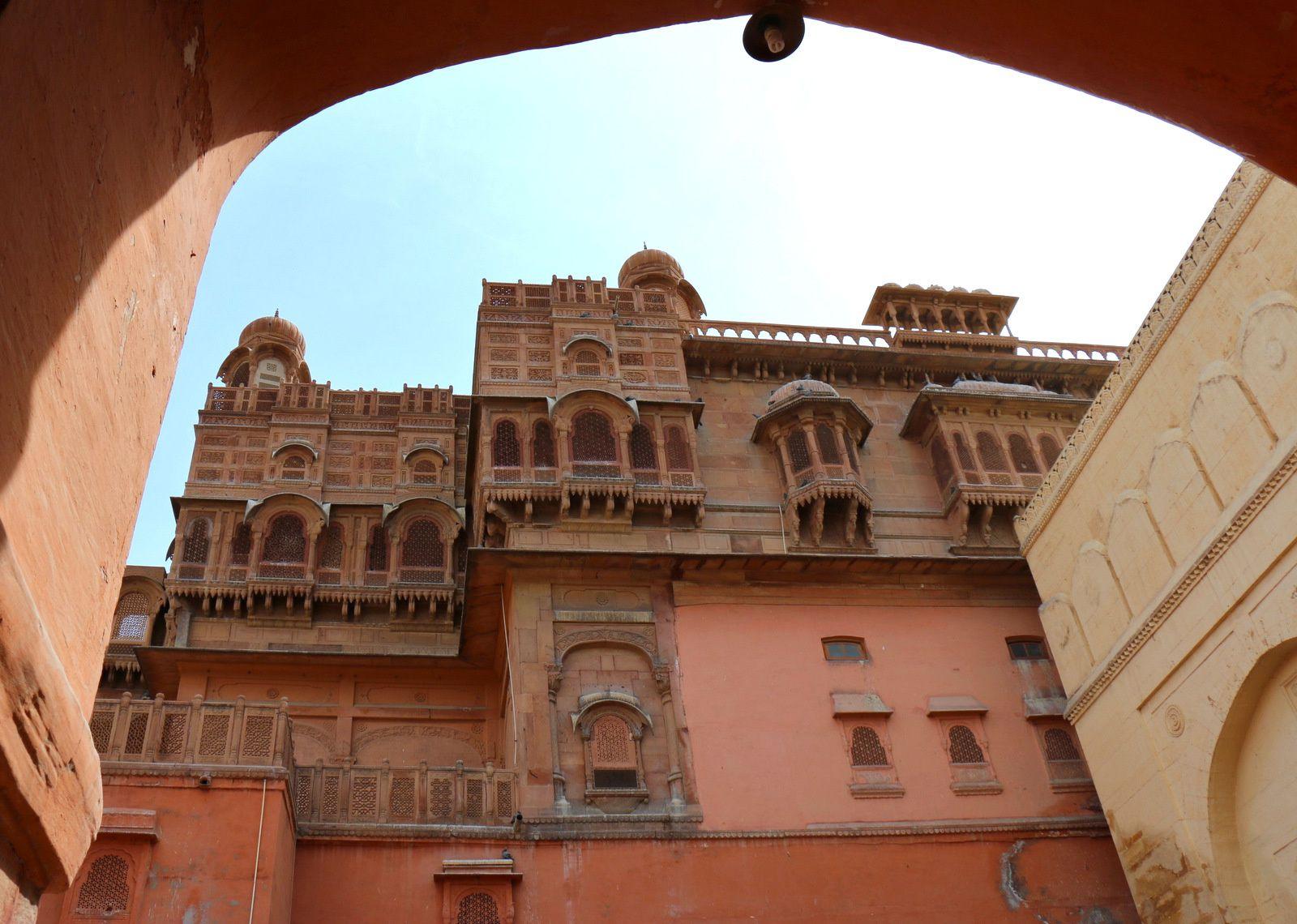 Junagarh Fort, Bikaner (Inde)