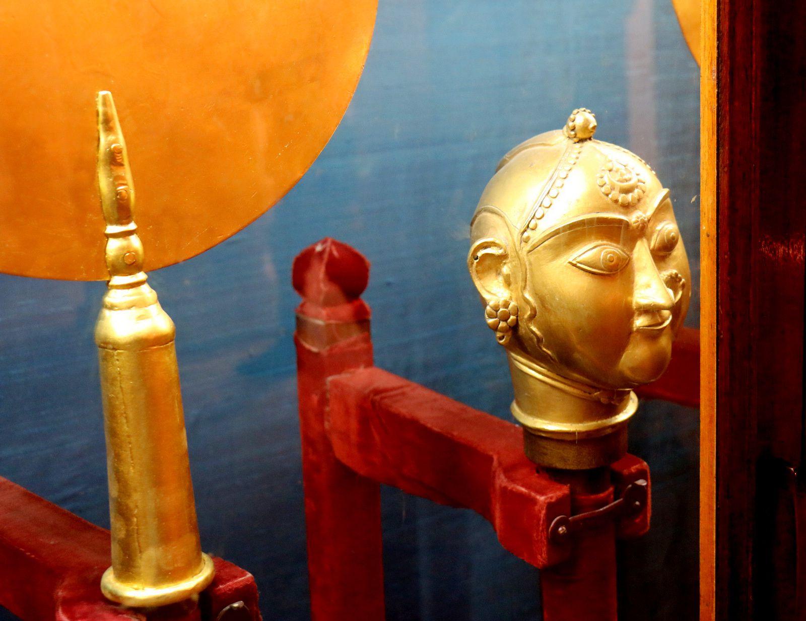 Junagarh Fort (Bikaner, Inde), salles des audiences privées et du trône