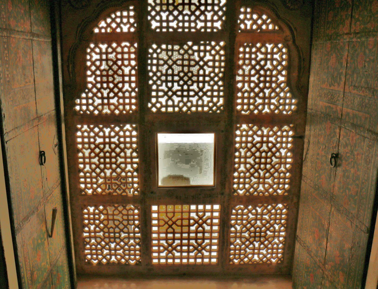 Junagarh Fort (Bikaner, Inde), lits et balancelle