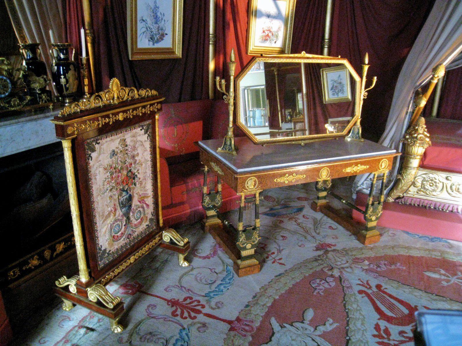 Chambre à coucher de l'Impératrice (1/2), château de malmaison