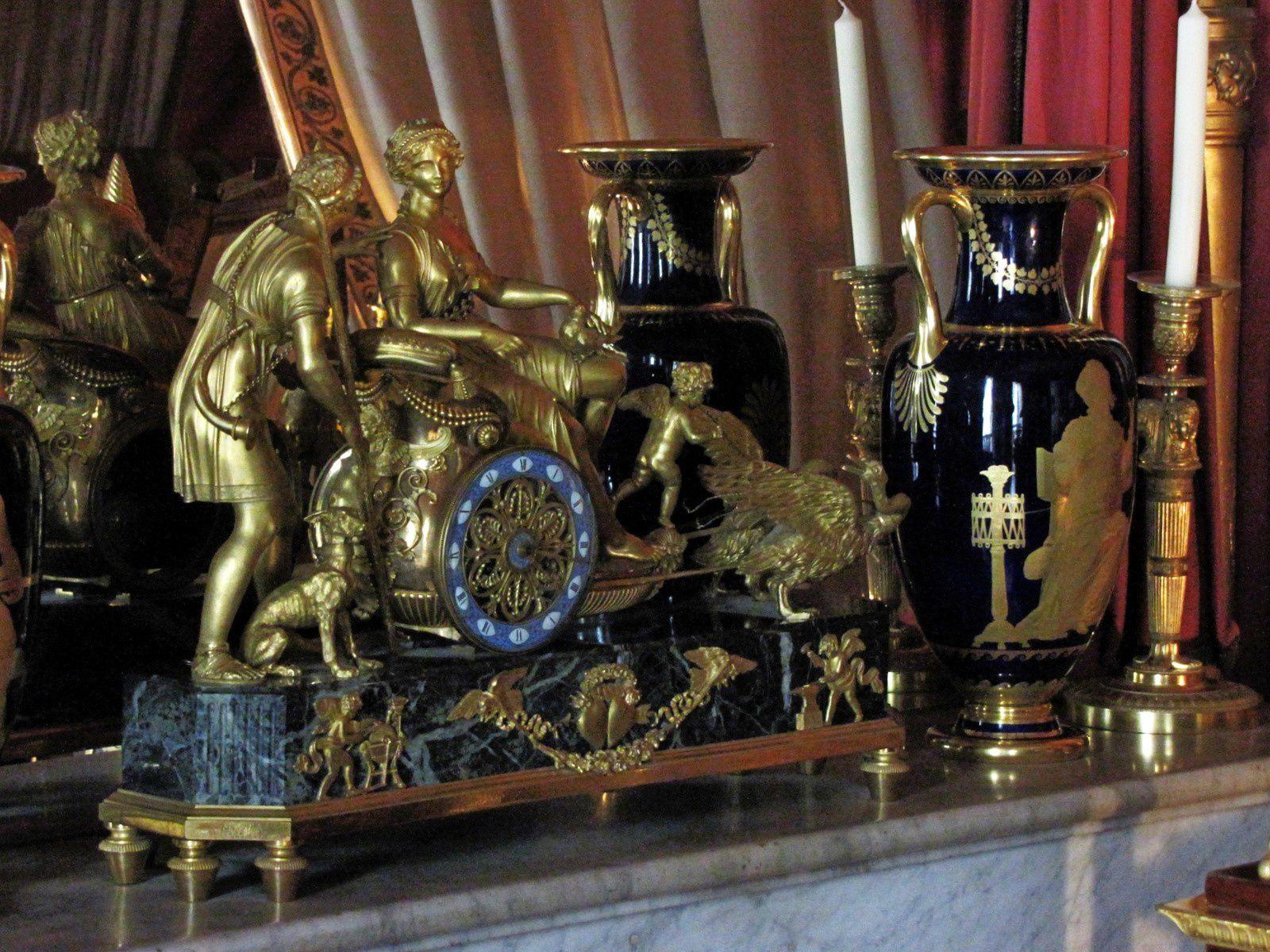 Chambre à coucher de l'Impératrice (2/2), château de malmaison