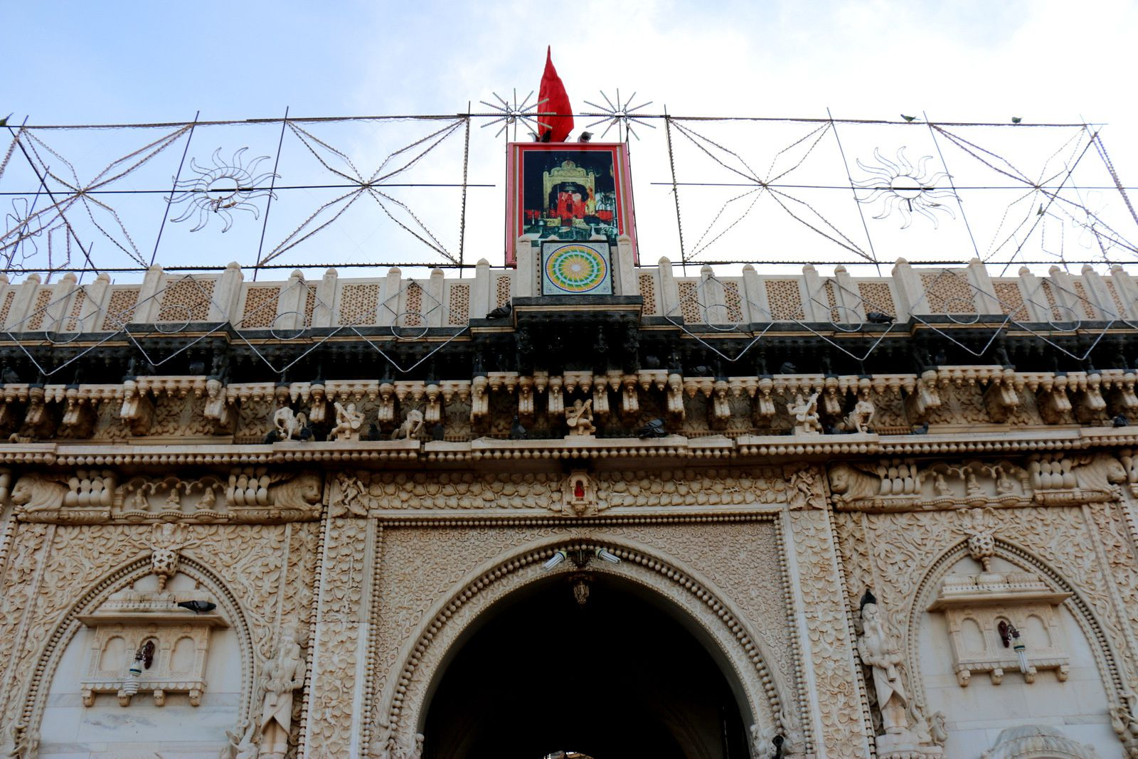 Le temple de Karni Mata (Temple des Rats), Deshnoke (Inde)