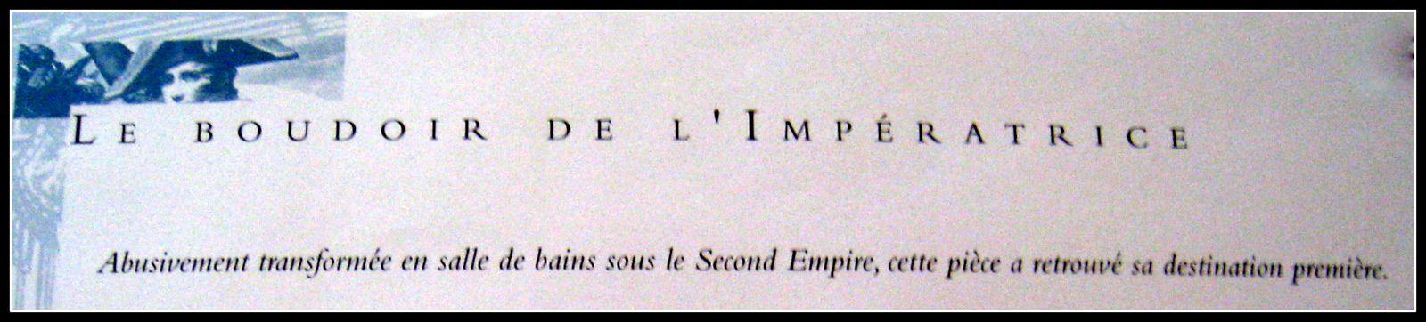 Pendule &quot&#x3B;l'Ecouteuse&quot&#x3B; et feux, Boudoir de l'Impératrice, château de malmaison